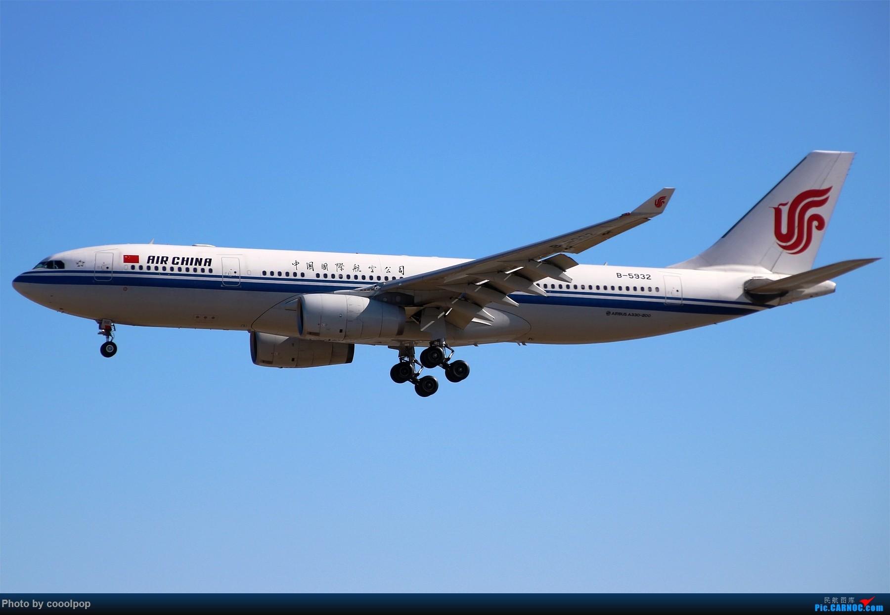 Re:[原创]PEK T3 桥上的一些大鸟!牌彩绘是要拼人品哒! AIRBUS A330-200 B-5932 中国北京首都国际机场