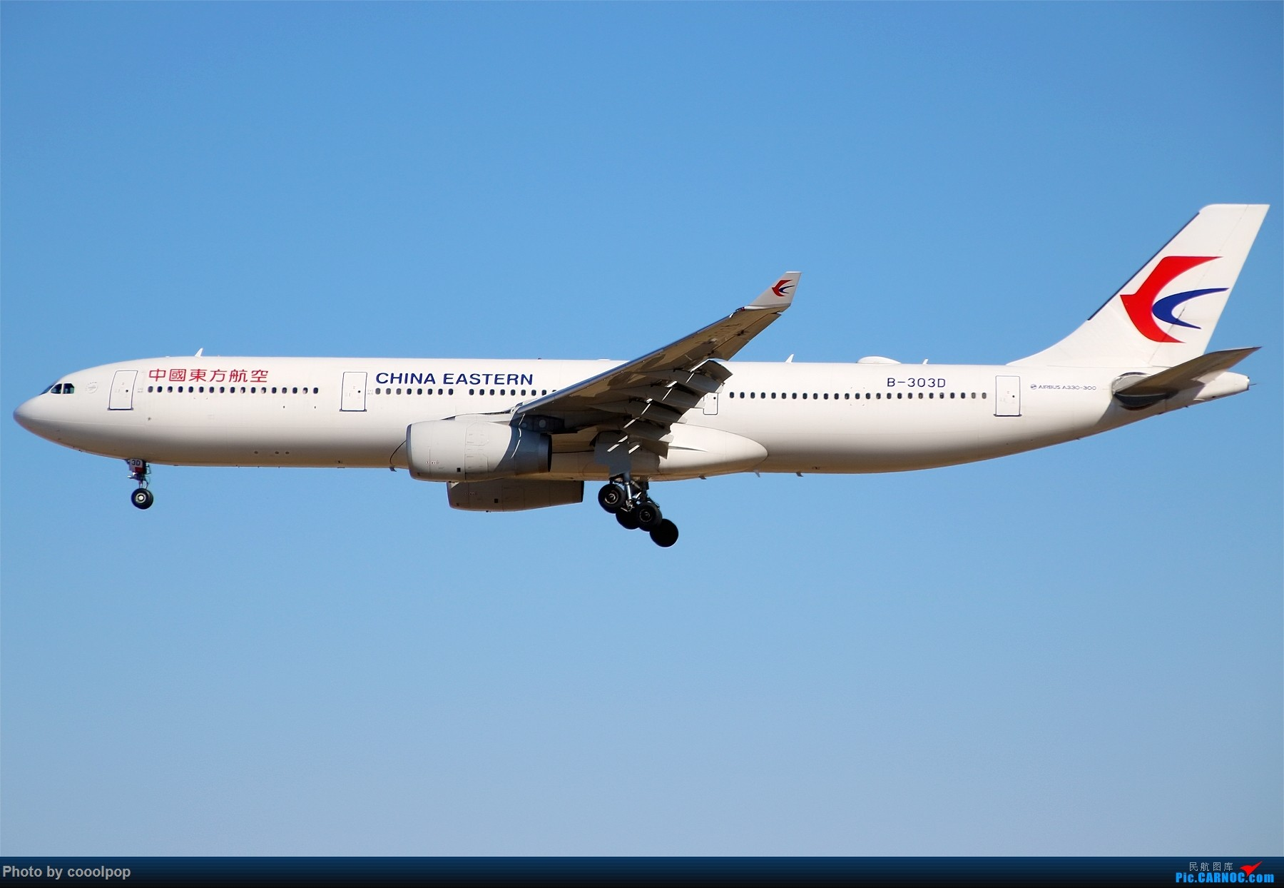 Re:[原创]PEK T3 桥上的一些大鸟!牌彩绘是要拼人品哒! AIRBUS A330-300 B-303D 中国北京首都国际机场