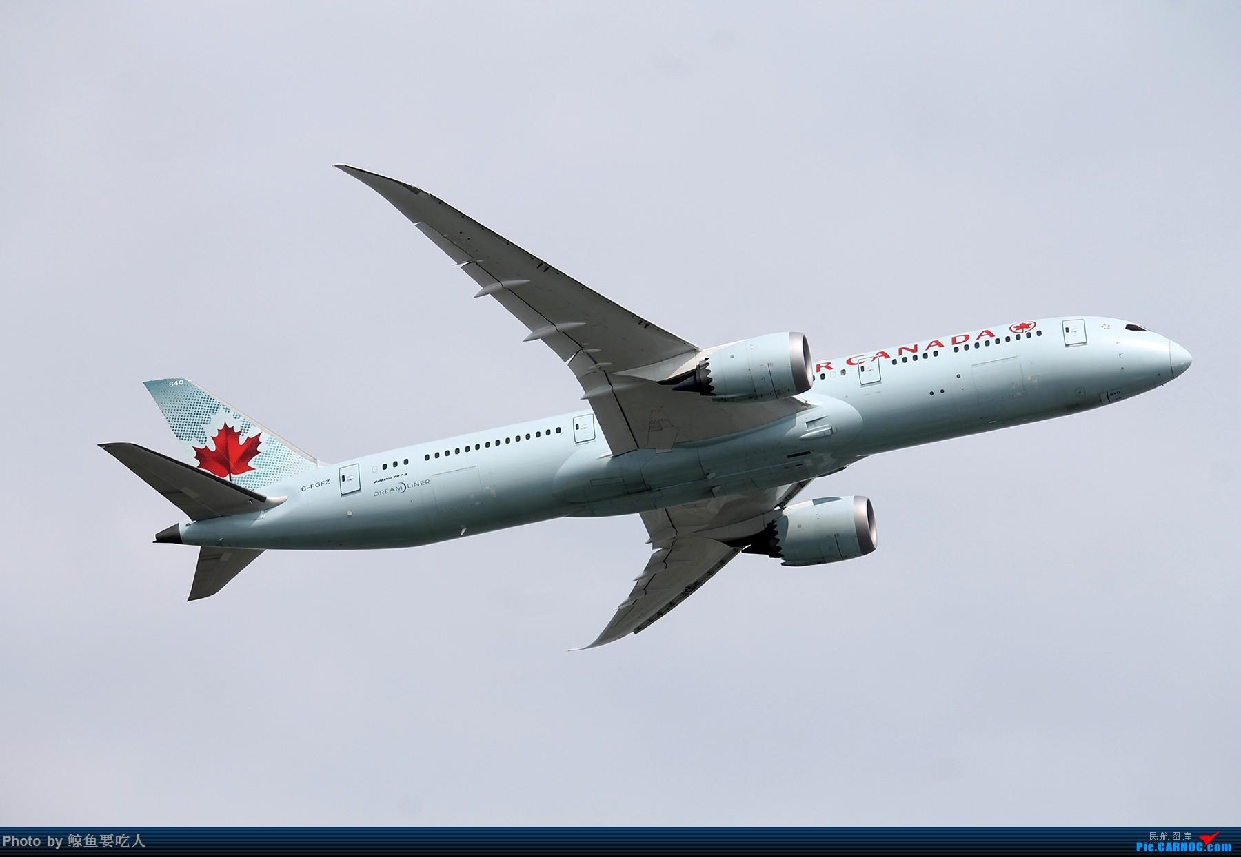 [原创][YYZ] 多伦多皮尔逊国际机场随拍一组~~ 持续更新 最后有惊喜 BOEING 787-9 C-FGFZ