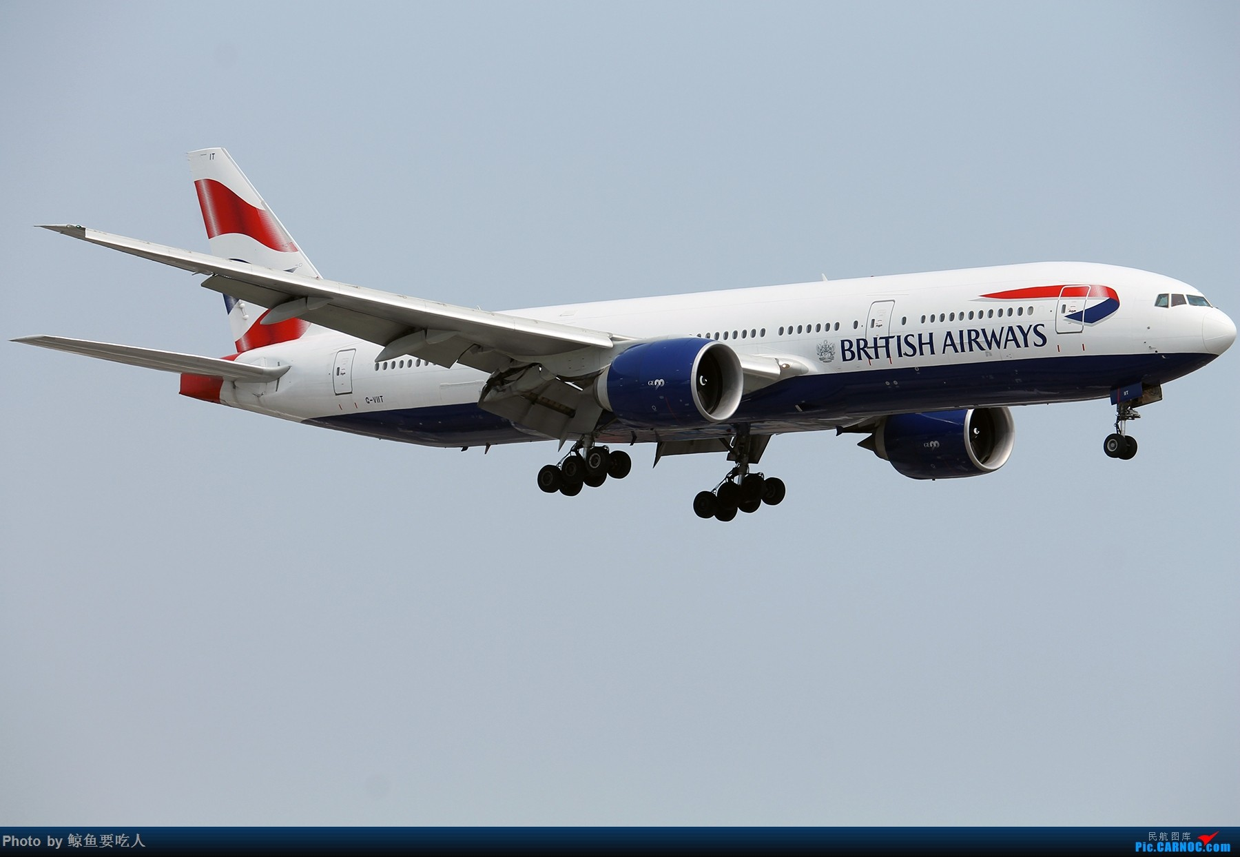 Re:[原创][YYZ] 多伦多皮尔逊国际机场随拍一组~~ BOEING 777-200 G-VIIT