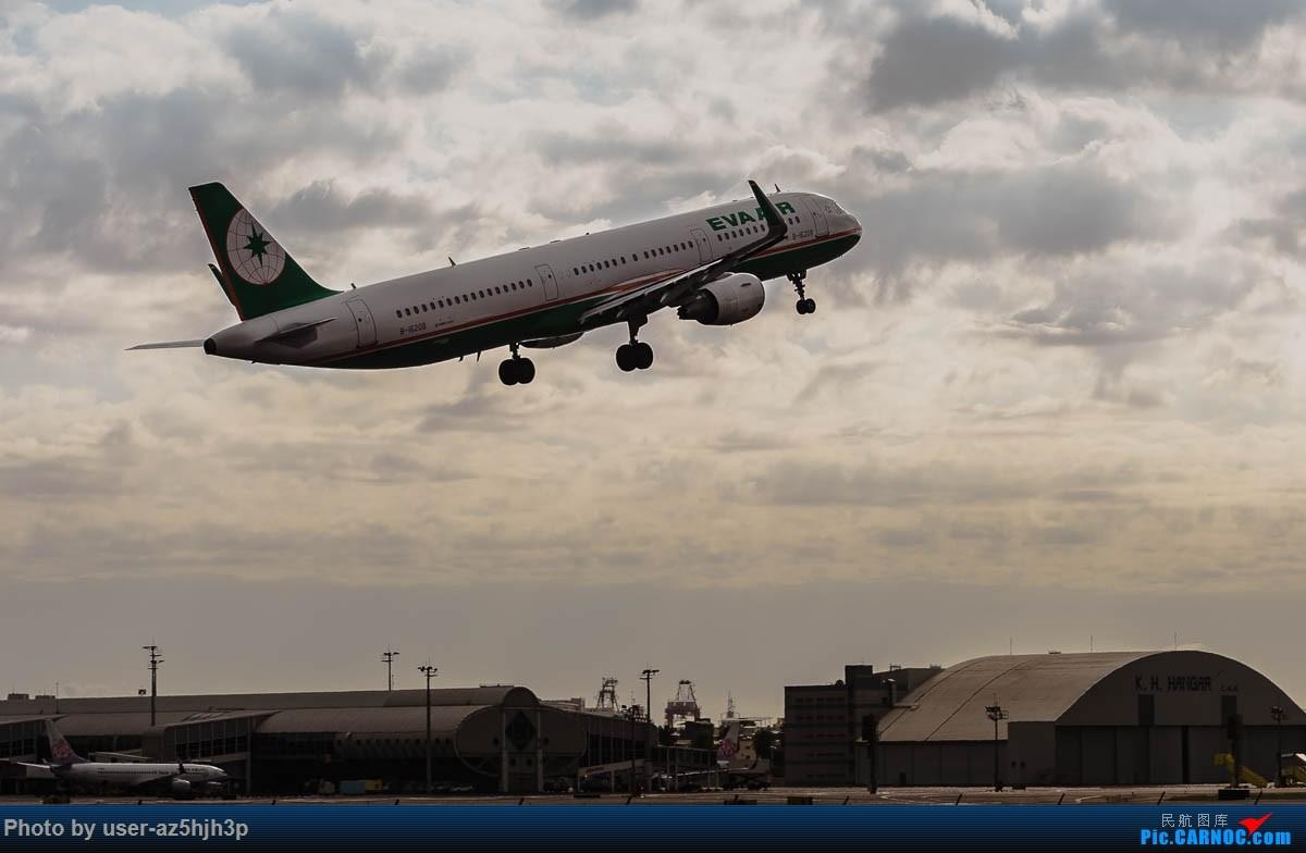 [原创]小港拍机 AIRBUS A321-200 B-16208 高雄国际机场