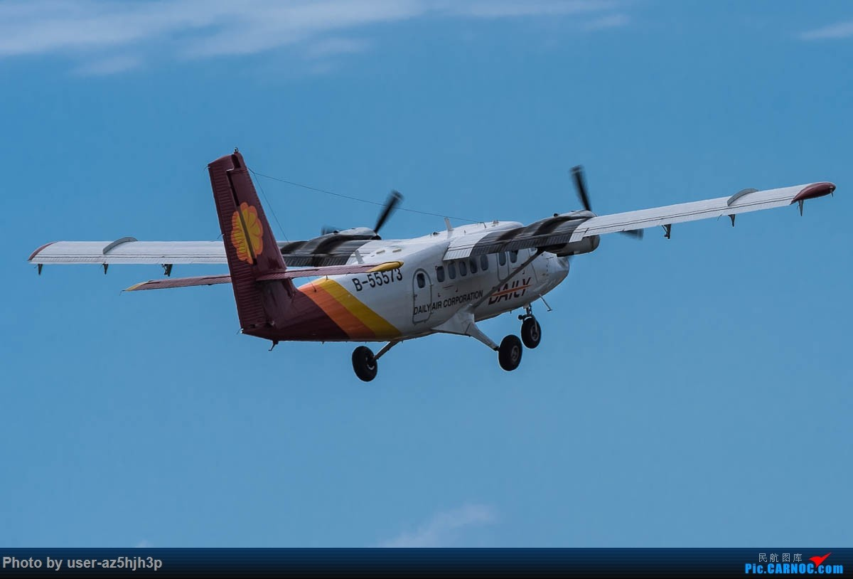 Re:[原创]小港拍机 DE HAVILLAN CANADA DHC-6 B-55573 高雄国际机场