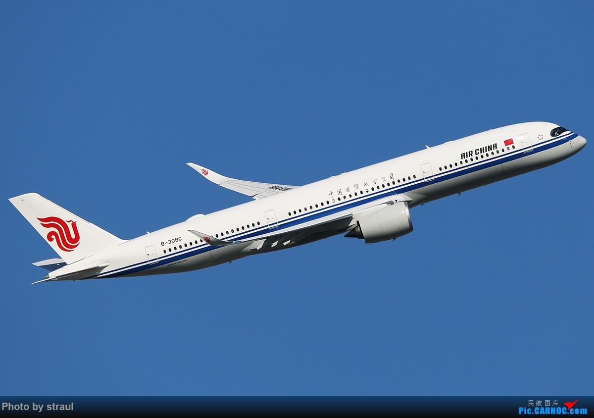 Re:[原创]「多图多机」国航 350 × 2 AIRBUS A350-900 B-308C 中国北京首都国际机场