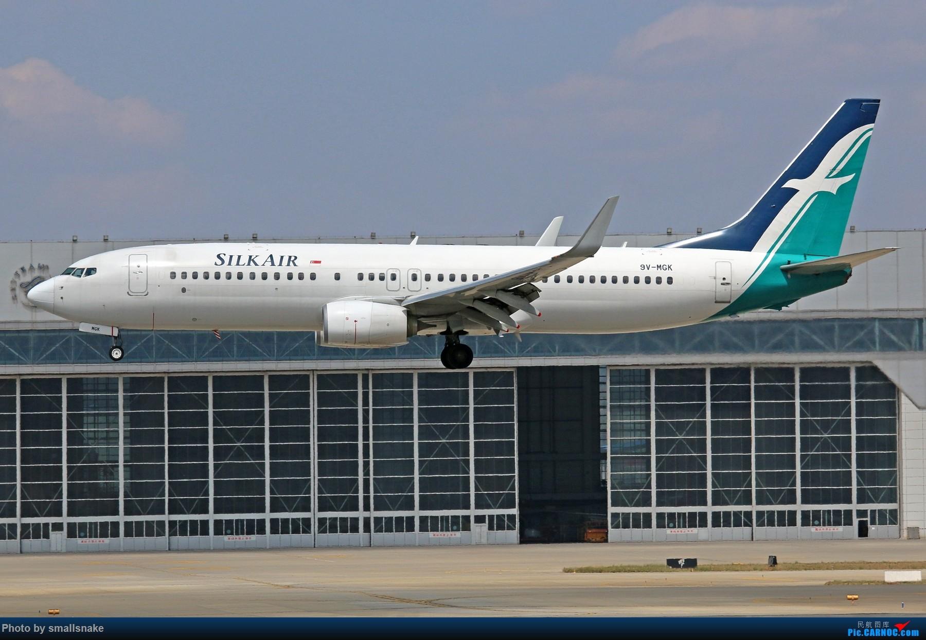 [原创]KMG打卡... BOEING 737-800 9V-MGK 昆明长水国际机场