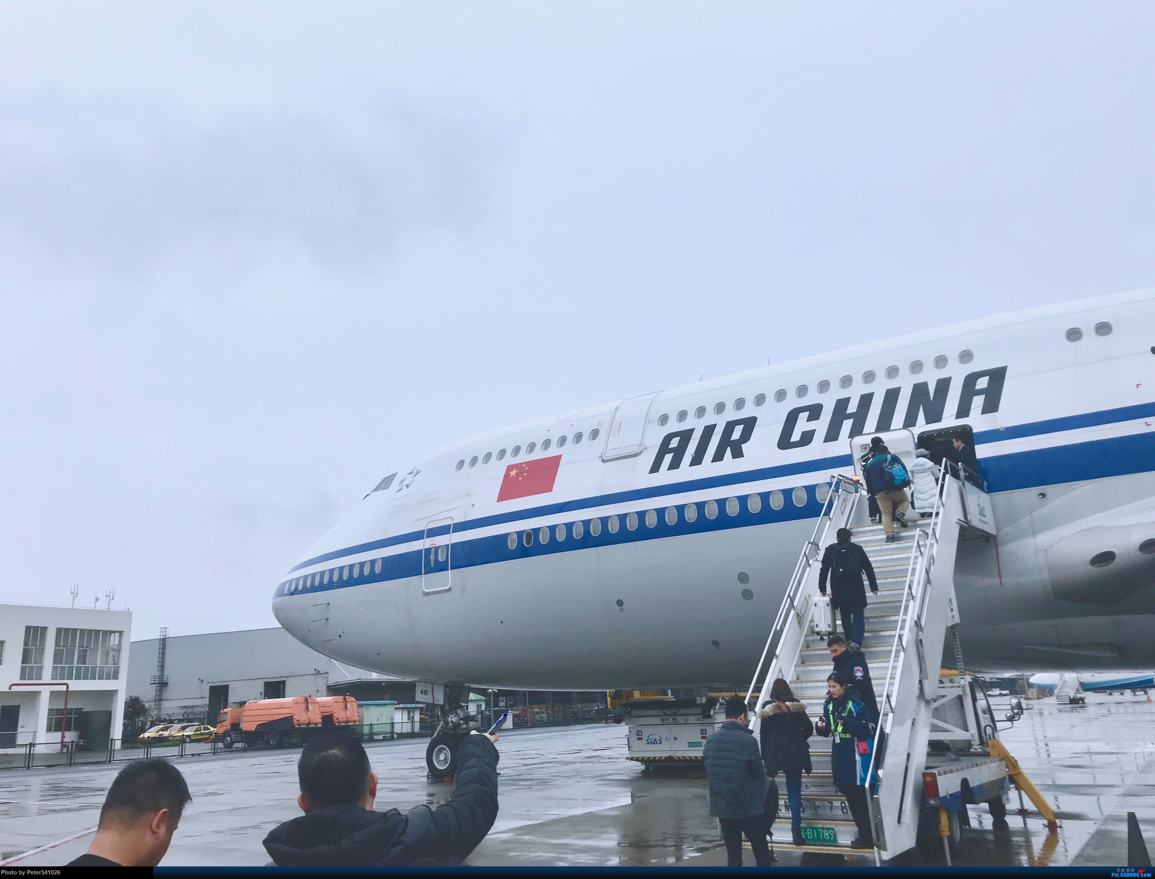 [原创]国航B-2481 波音747-8i BOEING 747-8I B-2481 上海、北京