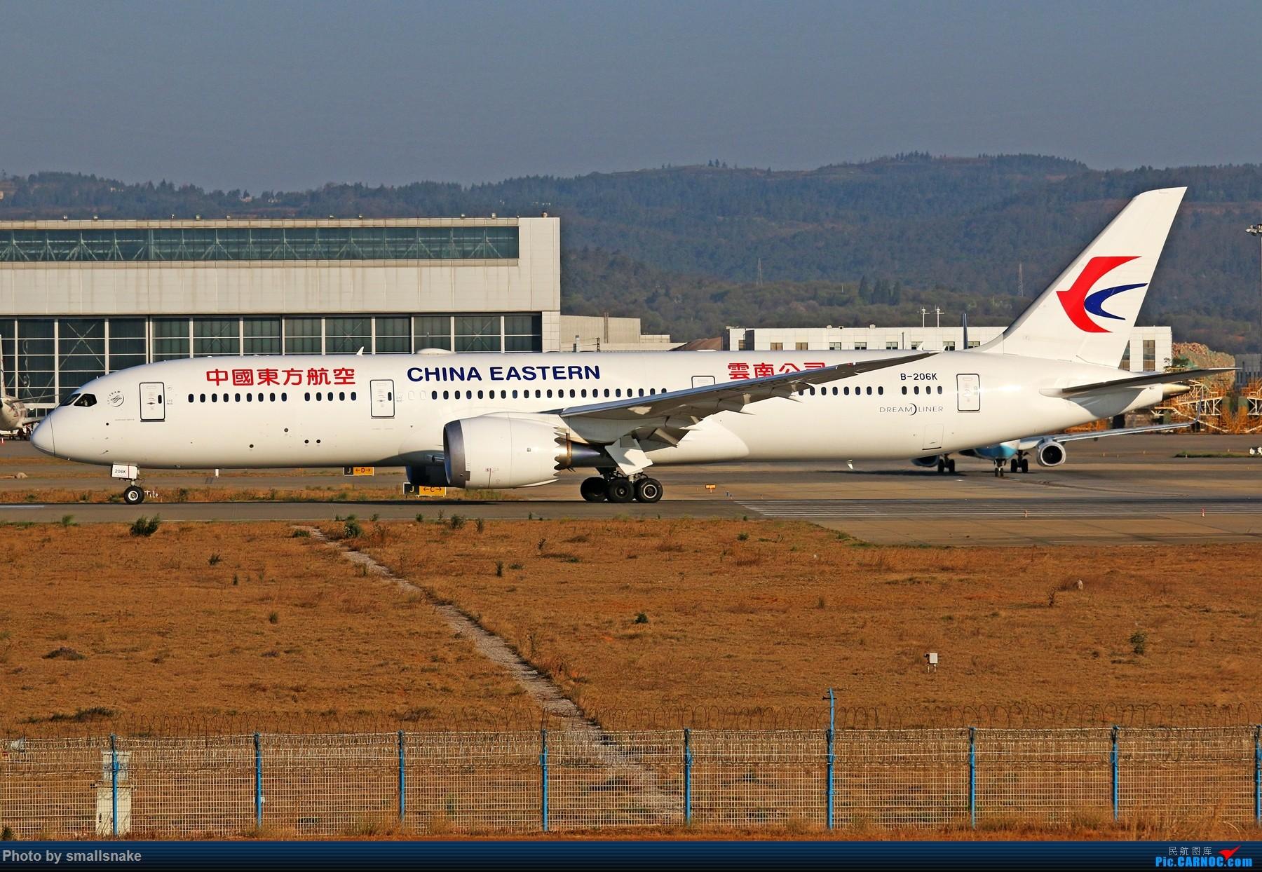 Re:[原创]KMG打卡... BOEING 787-9 B-206K 昆明长水国际机场