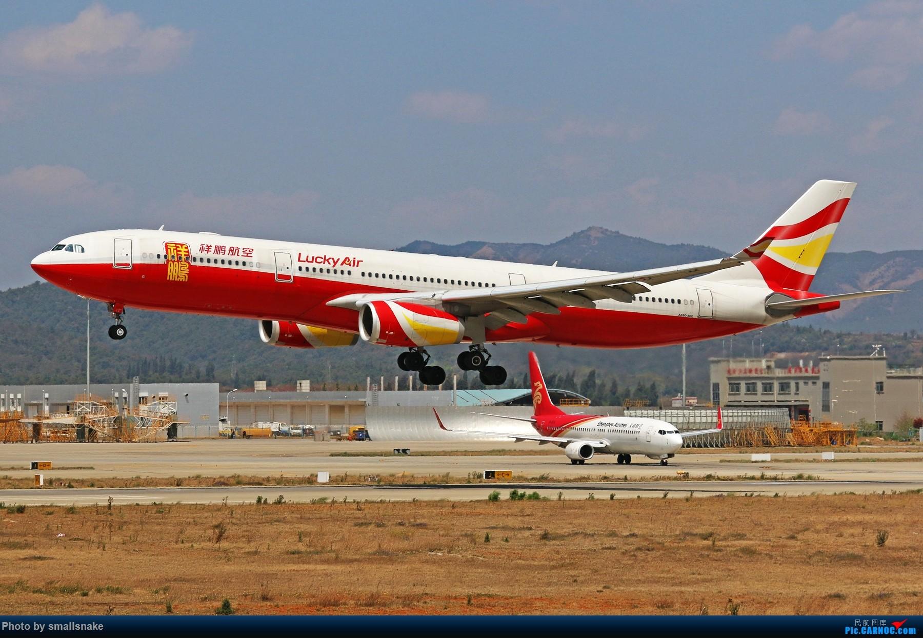 Re:[原创]KMG打卡... AIRBUS A330-300 B-1004 昆明长水国际机场