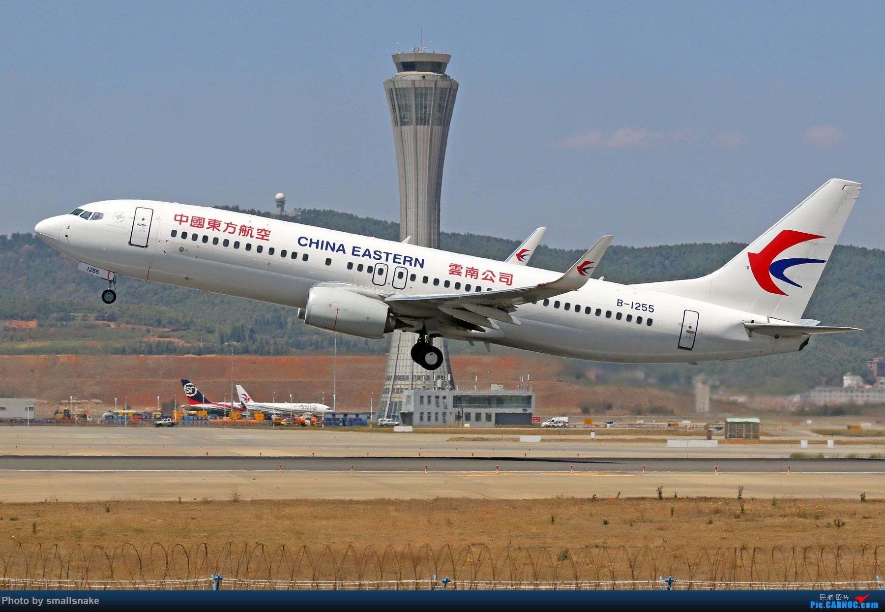 Re:[原创]KMG打卡... BOEING 737-800 B-1255 昆明长水国际机场