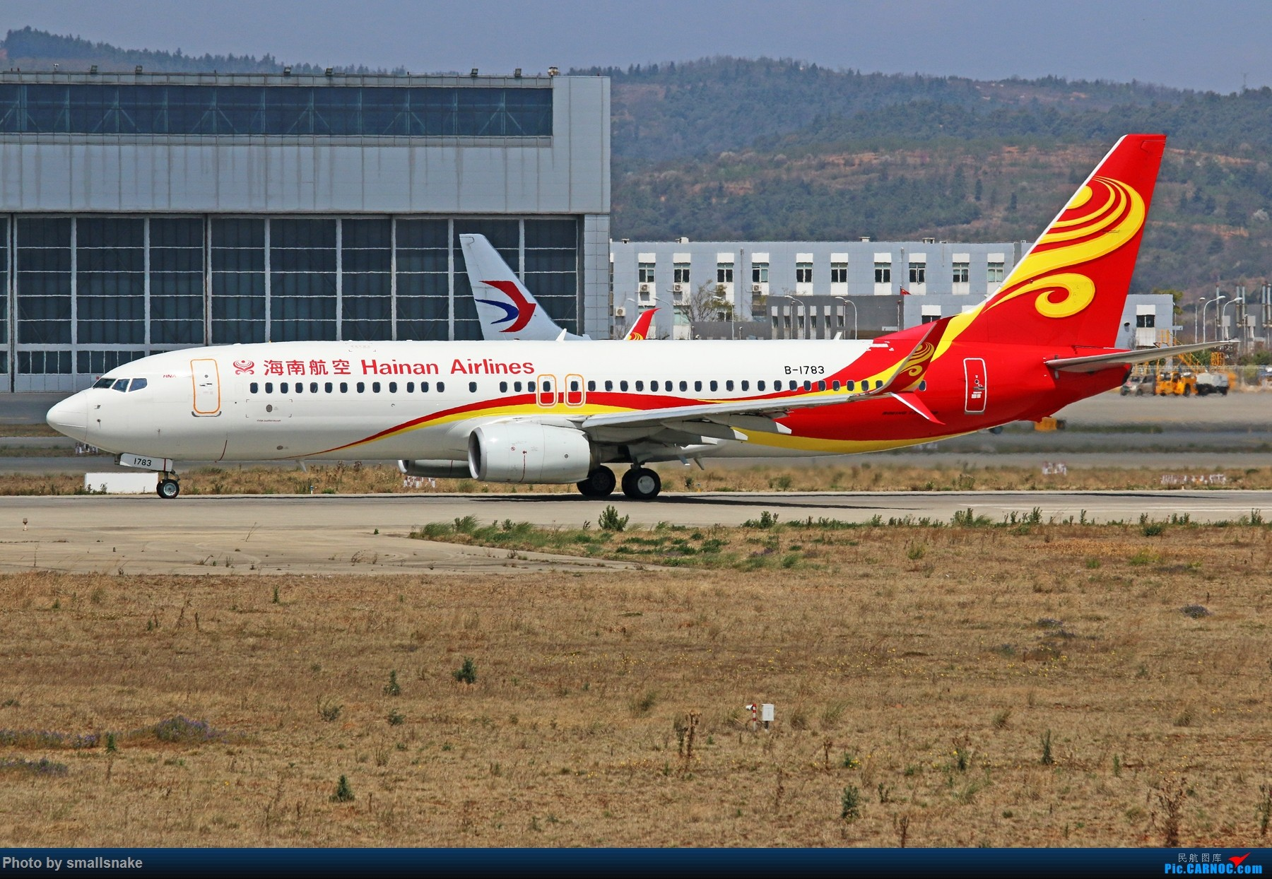 Re:[原创]KMG打卡... BOEING 737-800 B-1783 昆明长水国际机场