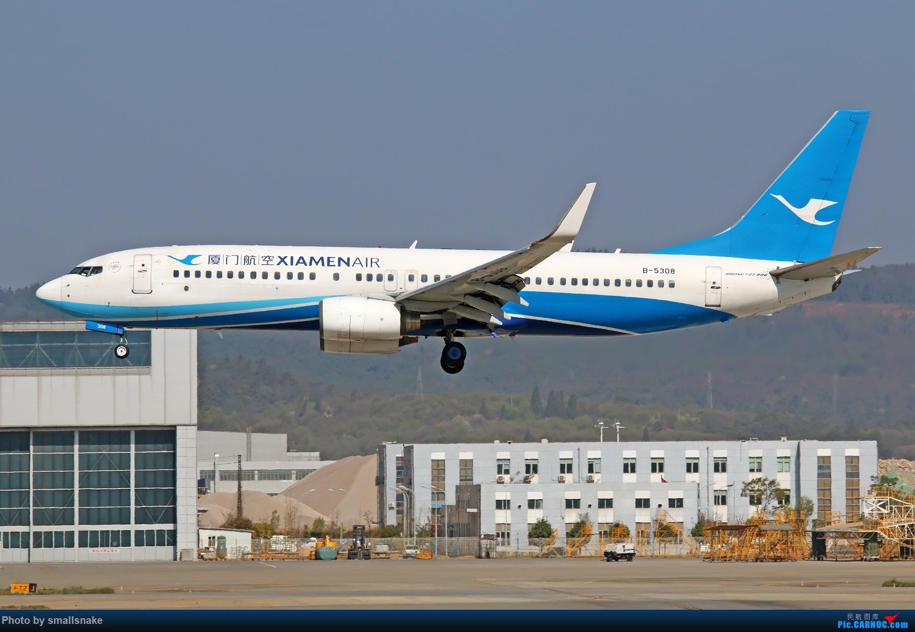 Re:[原创]KMG打卡... BOEING 737-800 B-5308 昆明长水国际机场