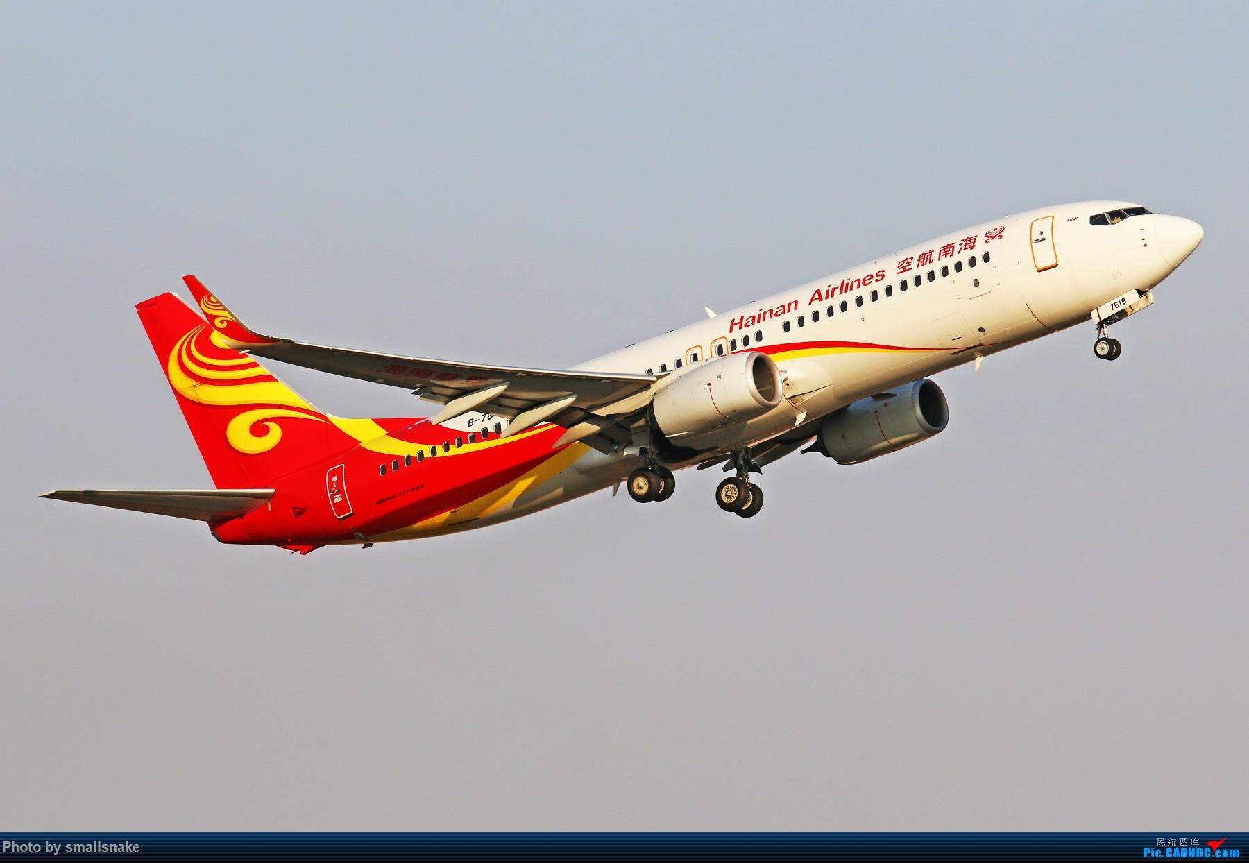 Re:[原创]KMG打卡... BOEING 737-800 B-7619 昆明长水国际机场