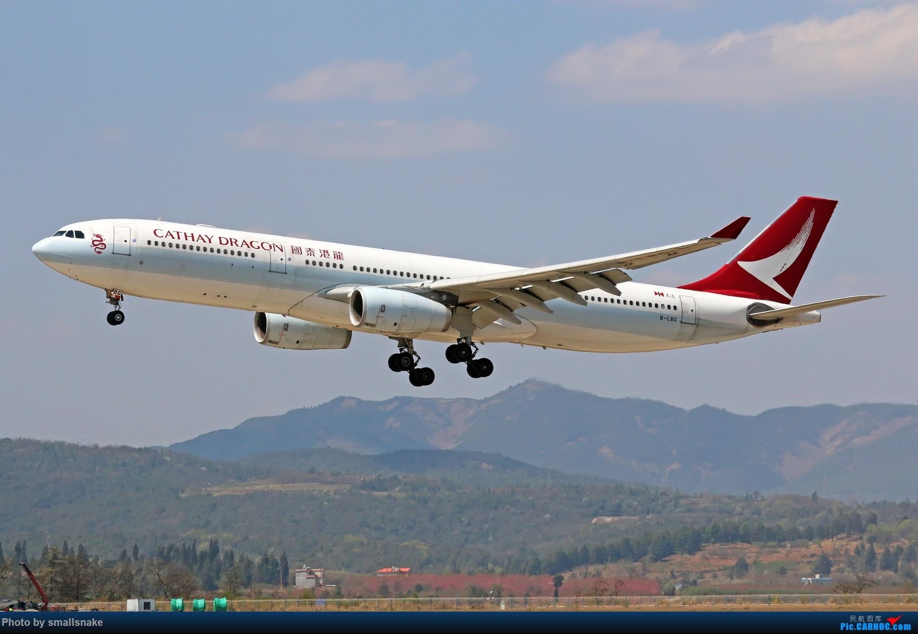Re:[原创]KMG打卡... AIRBUS A330-300 B-LBG 昆明长水国际机场