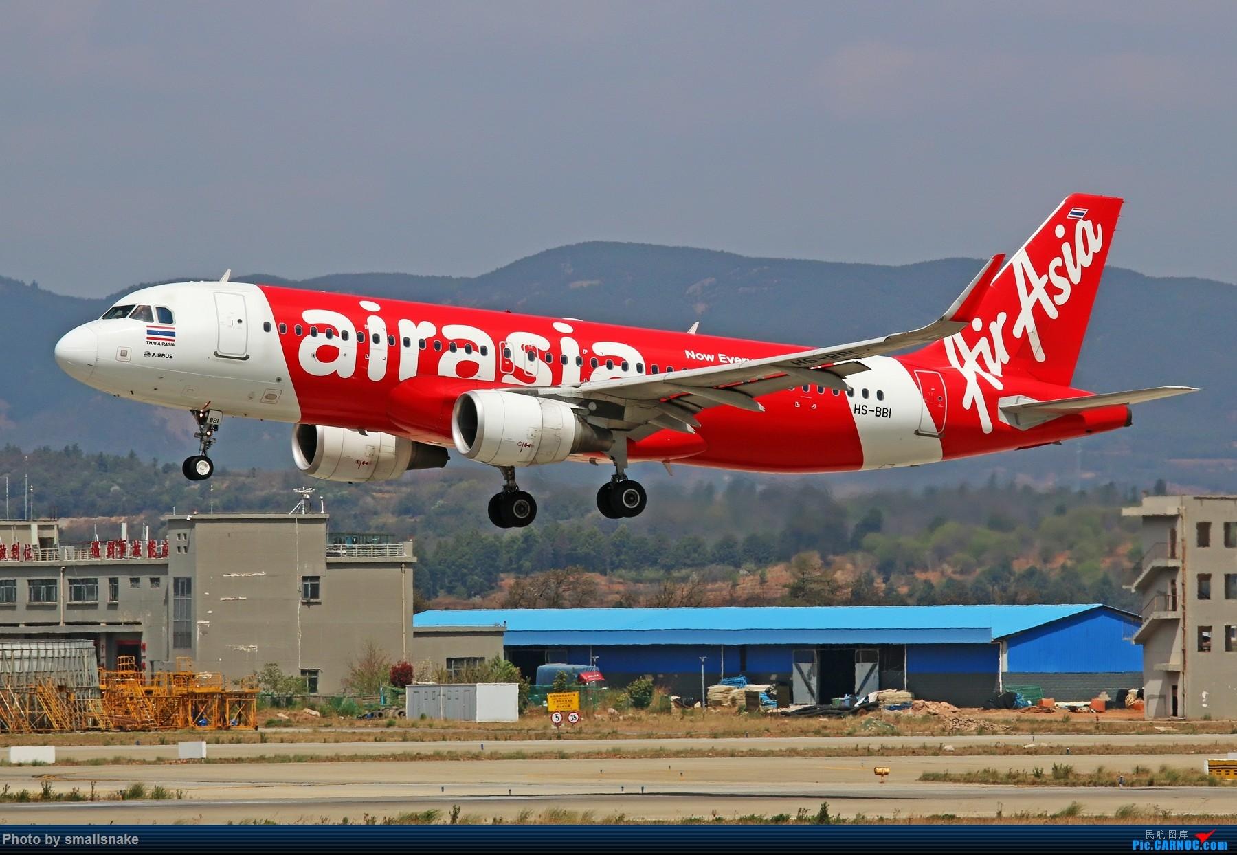 Re:[原创]KMG打卡... AIRBUS A320-200 HS-BBI 昆明长水国际机场