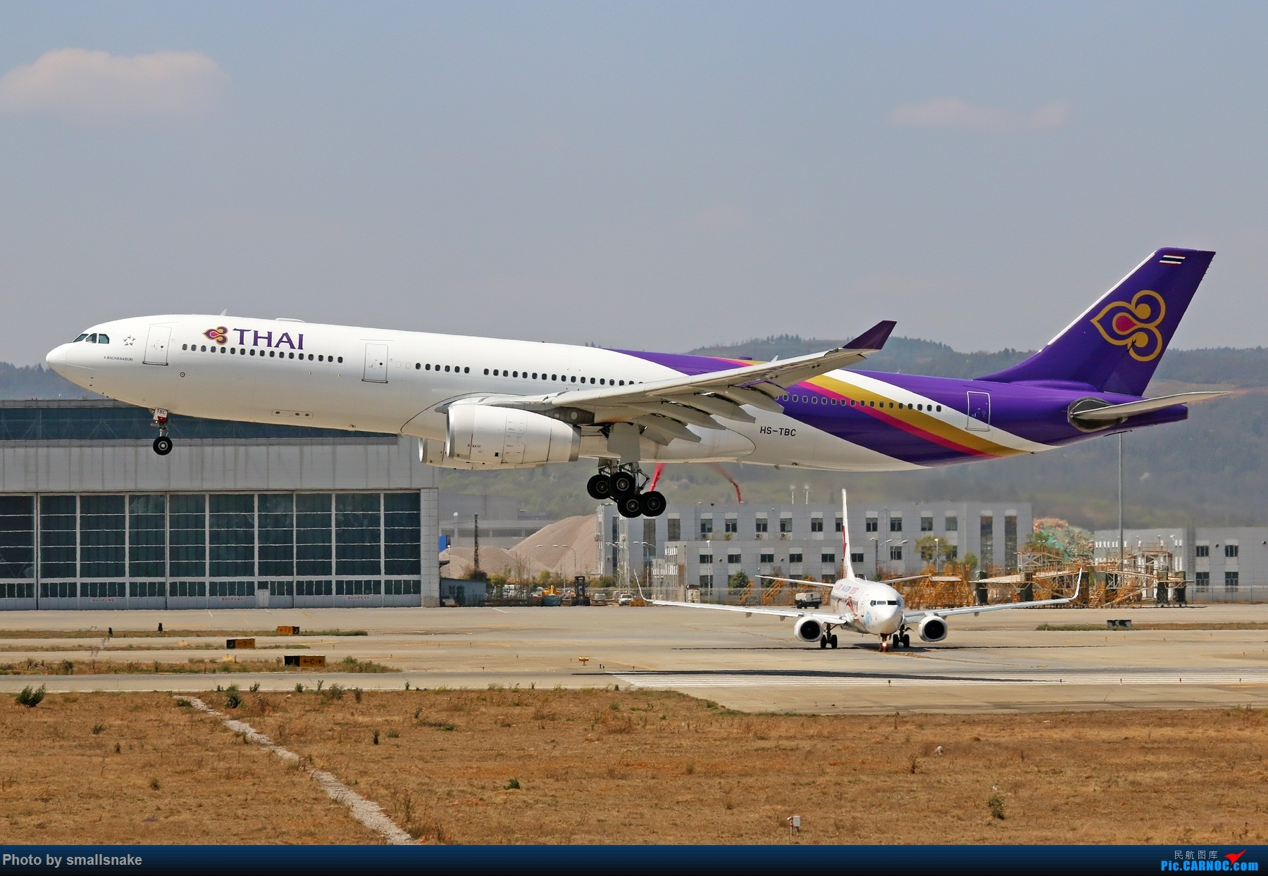 Re:[原创]KMG打卡... AIRBUS A330-300 HS-TBC 昆明长水国际机场
