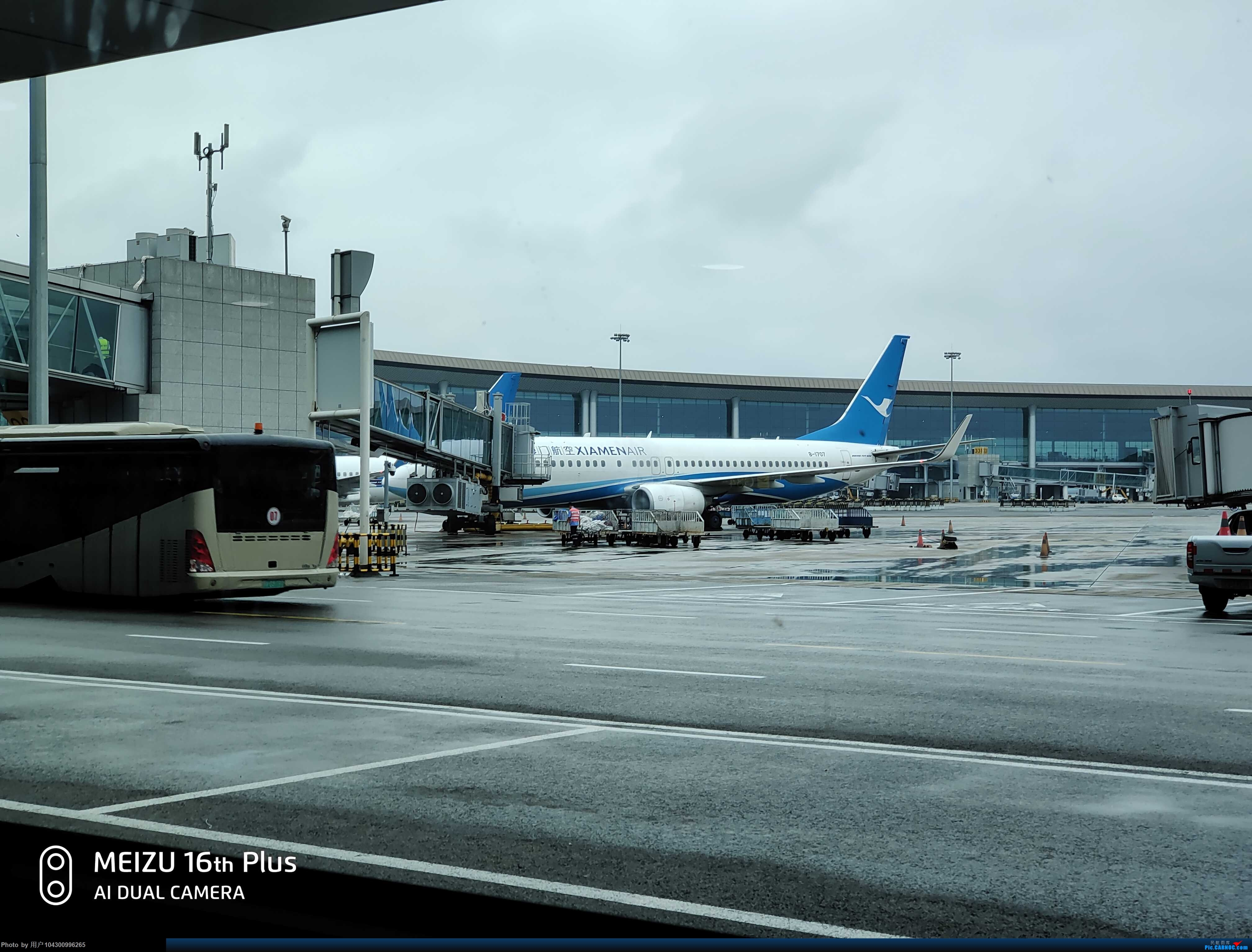 Re:[原创]〖DM哥游记〗多彩贵州航空~重庆--贵阳 BOEING 737-800 B-1707 中国重庆江北国际机场