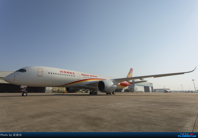 """【蓝旗鱼摄影】海航A350""""墨镜侠"""" AIRBUS A350-900 B-1069 海口"""