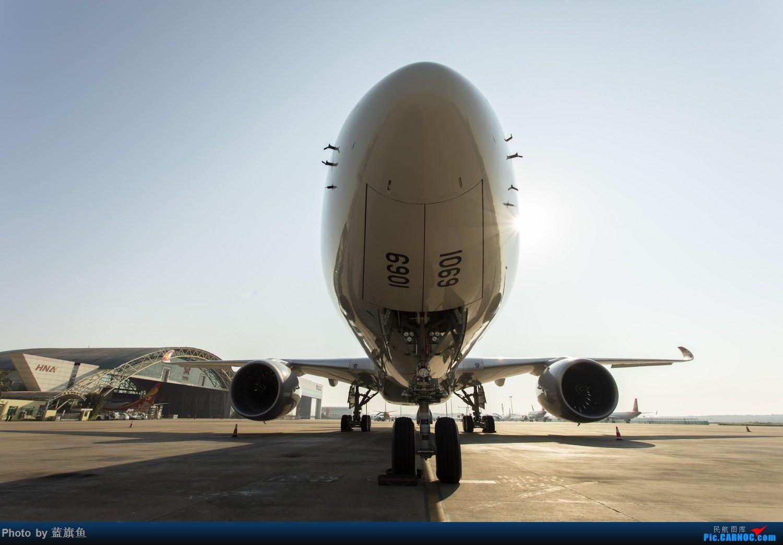 "Re:【蓝旗鱼摄影】海航A350""墨镜侠"" AIRBUS A350-900 B-1069 海口"