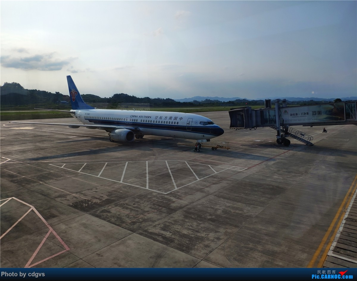 Re:[原创]端午南宁晃一圈(KMG-ZYI-NNG-KMG) BOEING 737-800 B-5163 中国遵义新舟机场