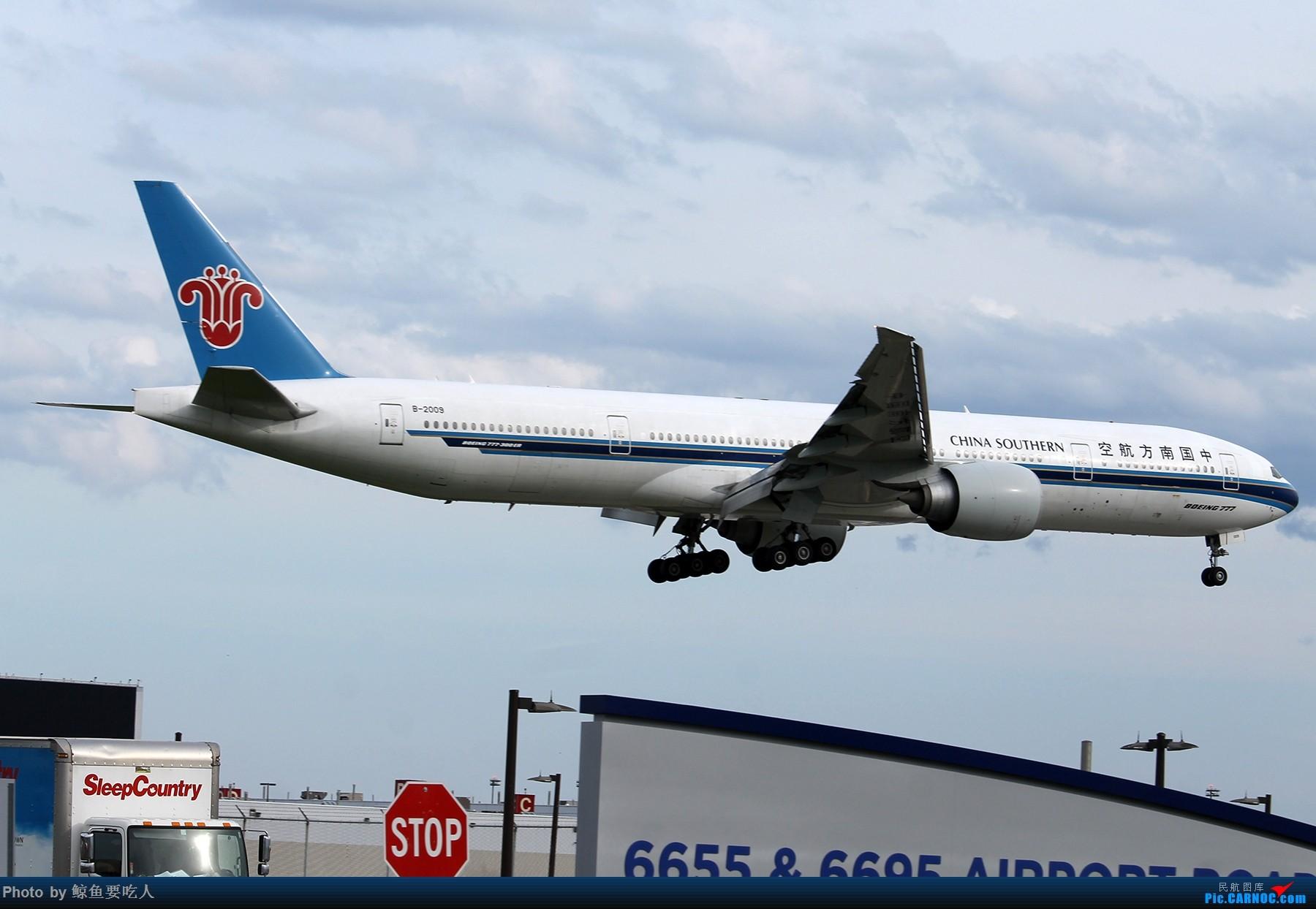 Re:[原创][YYZ] 多伦多皮尔逊国际机场 阴天起降一组~~~ BOEING 777-300ER B-2009 多伦多皮尔逊国际机场