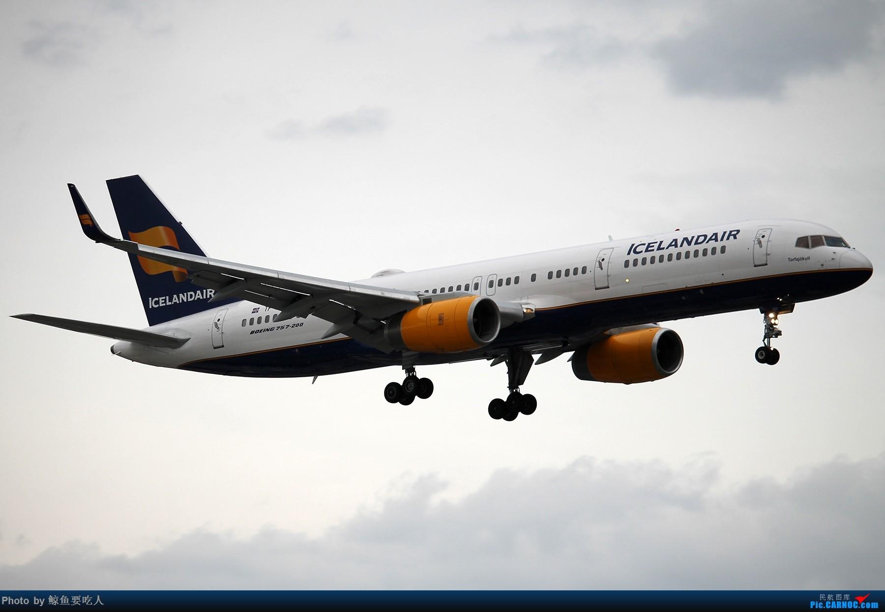 Re:[原创][YYZ] 多伦多皮尔逊国际机场 阴天起降一组~~~ BOEING 757-200 TF-ISY 多伦多皮尔逊国际机场