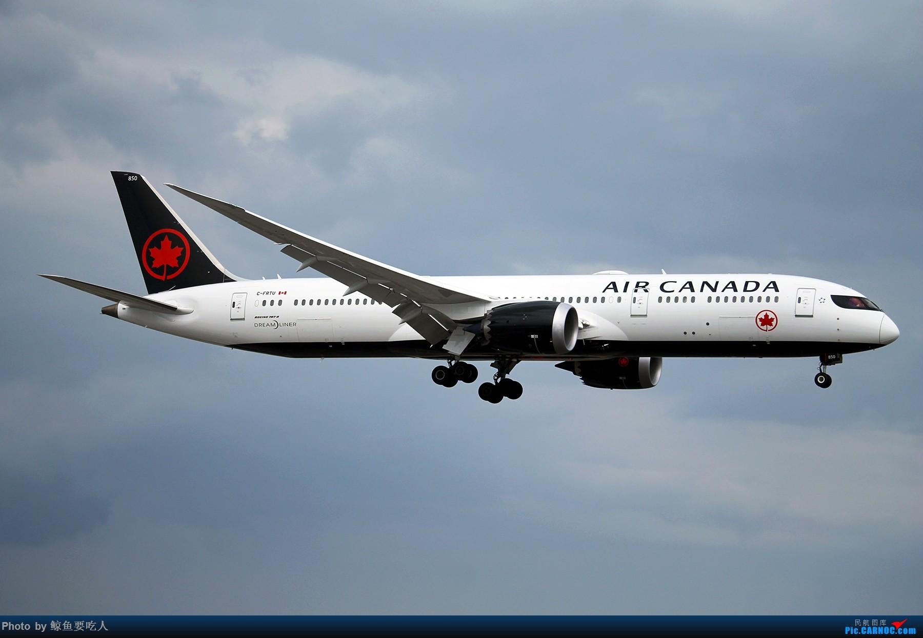 Re:[原创][YYZ] 多伦多皮尔逊国际机场 阴天起降一组~~~ BOEING 787-9 C-FRTU 多伦多皮尔逊国际机场