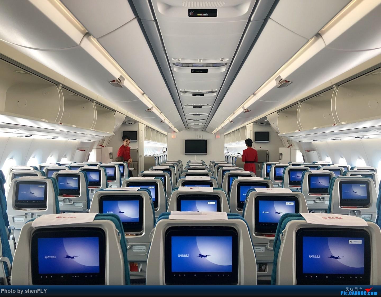[原创]【川航第二架熊猫A359飞行游记】跟着熊猫飞天游,品鉴川航优质餐 AIRBUS A350-900 B-306N 中国上海浦东国际机场