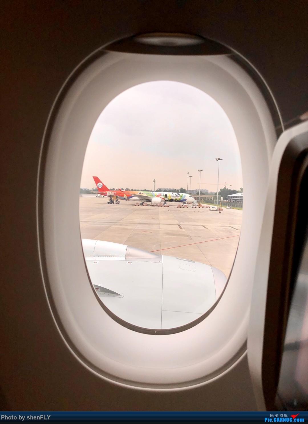 Re:[原创]【川航第二架熊猫A359飞行游记】跟着熊猫飞天游,品鉴川航优质餐 AIRBUS A350-900 B-306N 中国成都双流国际机场