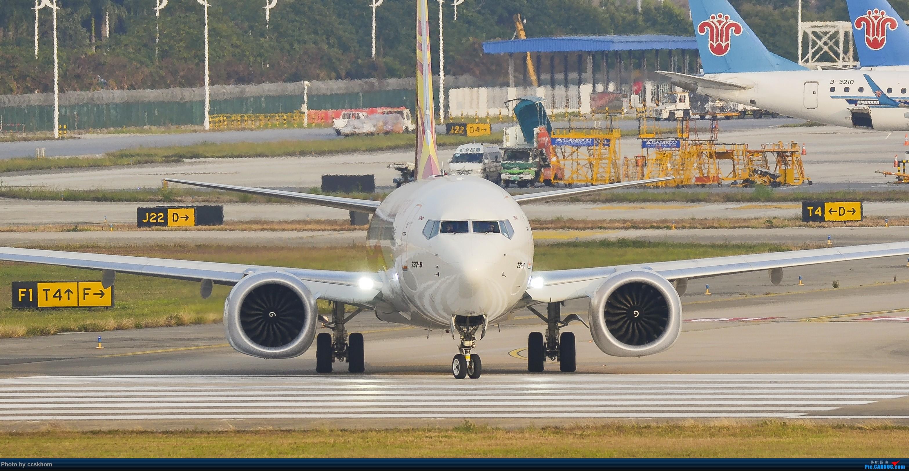 Re:[原创]ZGGG的19端 BOEING 737MAX-8 B-1100 中国广州白云国际机场