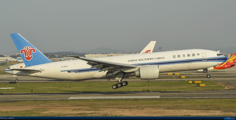Re:[原创]ZGGG的19端 BOEING 777F B-2072 中国广州白云国际机场