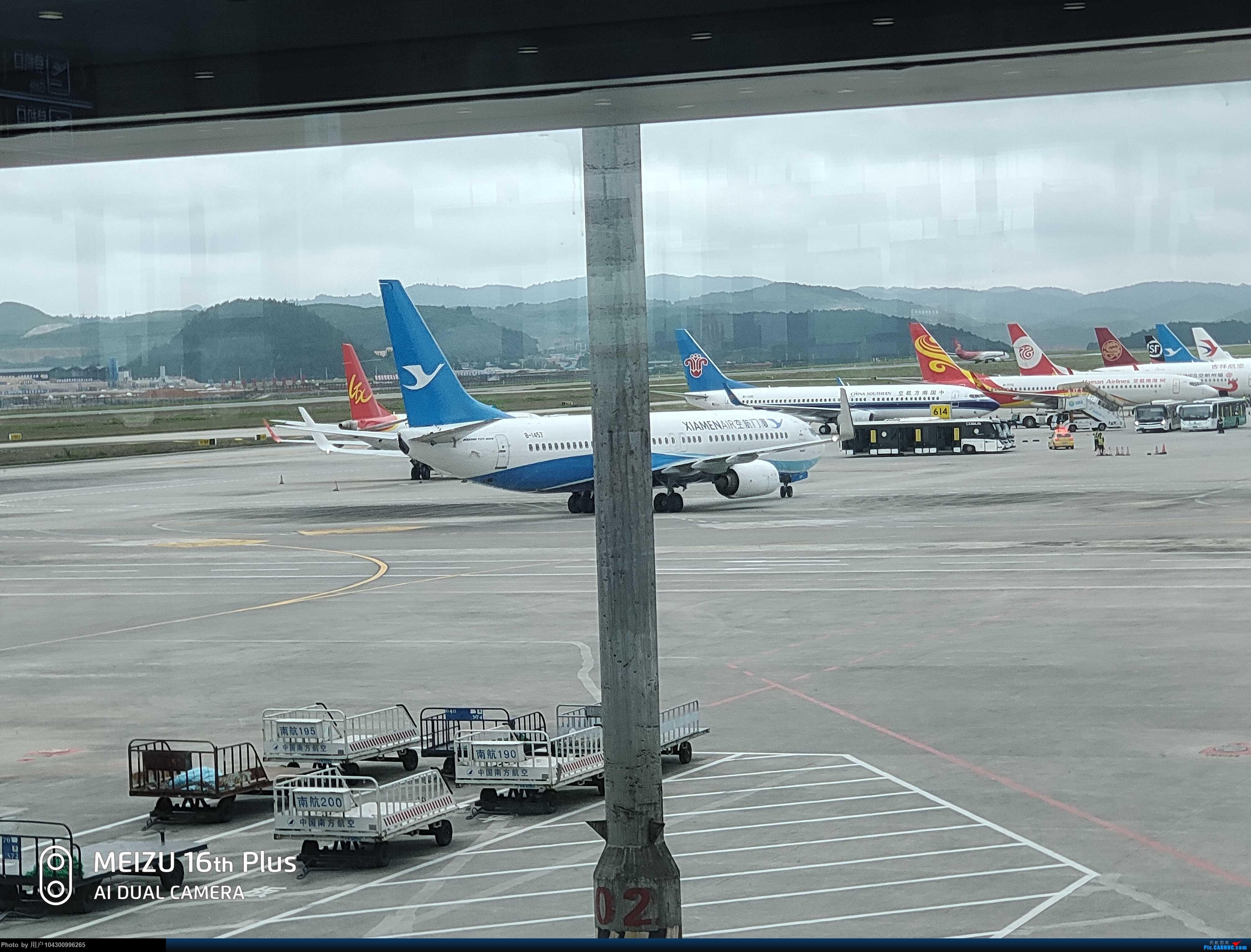 Re:[原创][DM哥飞行游记]-多彩贵州航空贵阳-茅台当日往返 BOEING 737-800 B-1457 中国贵阳龙洞堡国际机场