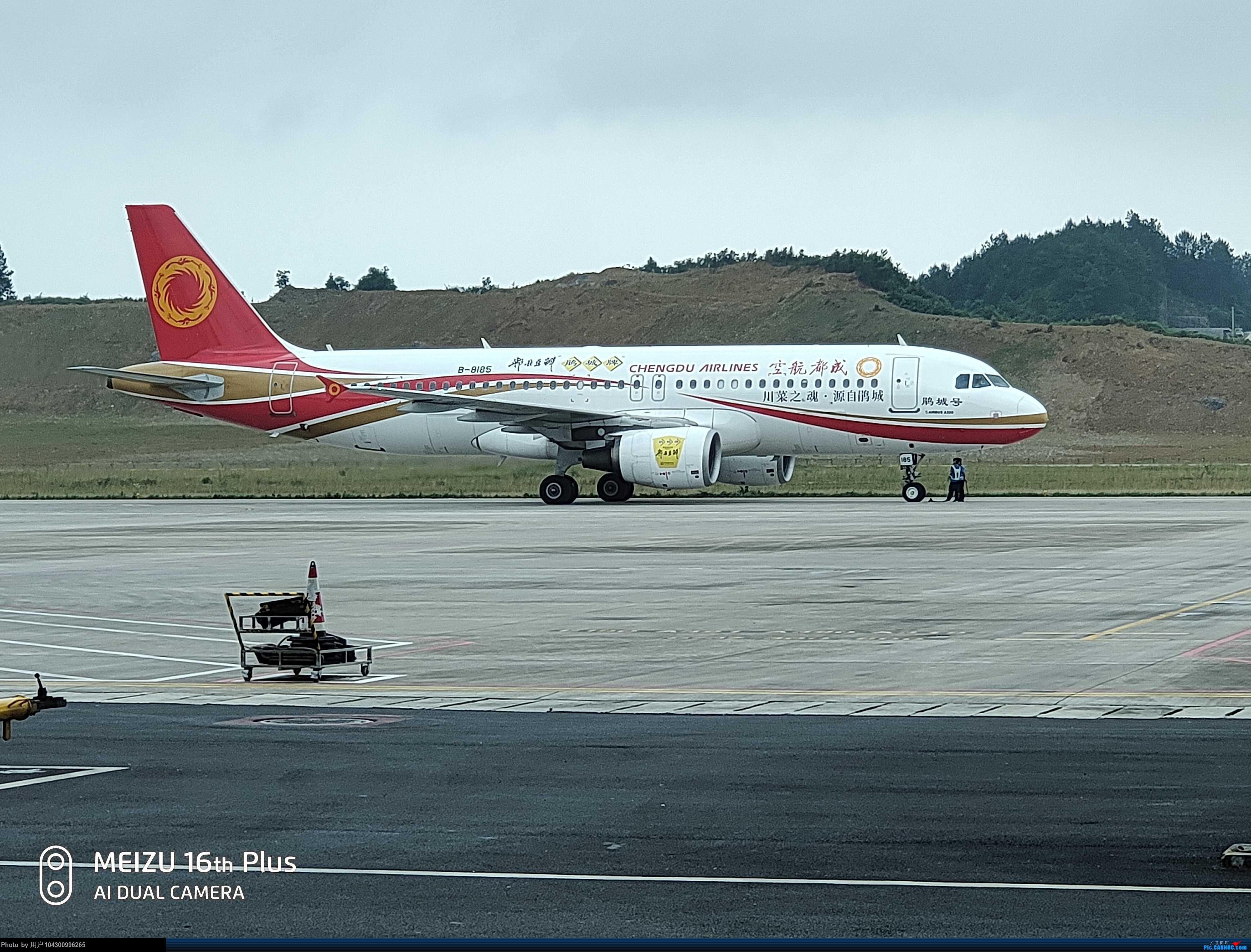 Re:[原创][DM哥飞行游记]-多彩贵州航空贵阳-茅台当日往返 AIRBUS A320-200 B-8185 中国遵义茅台机场