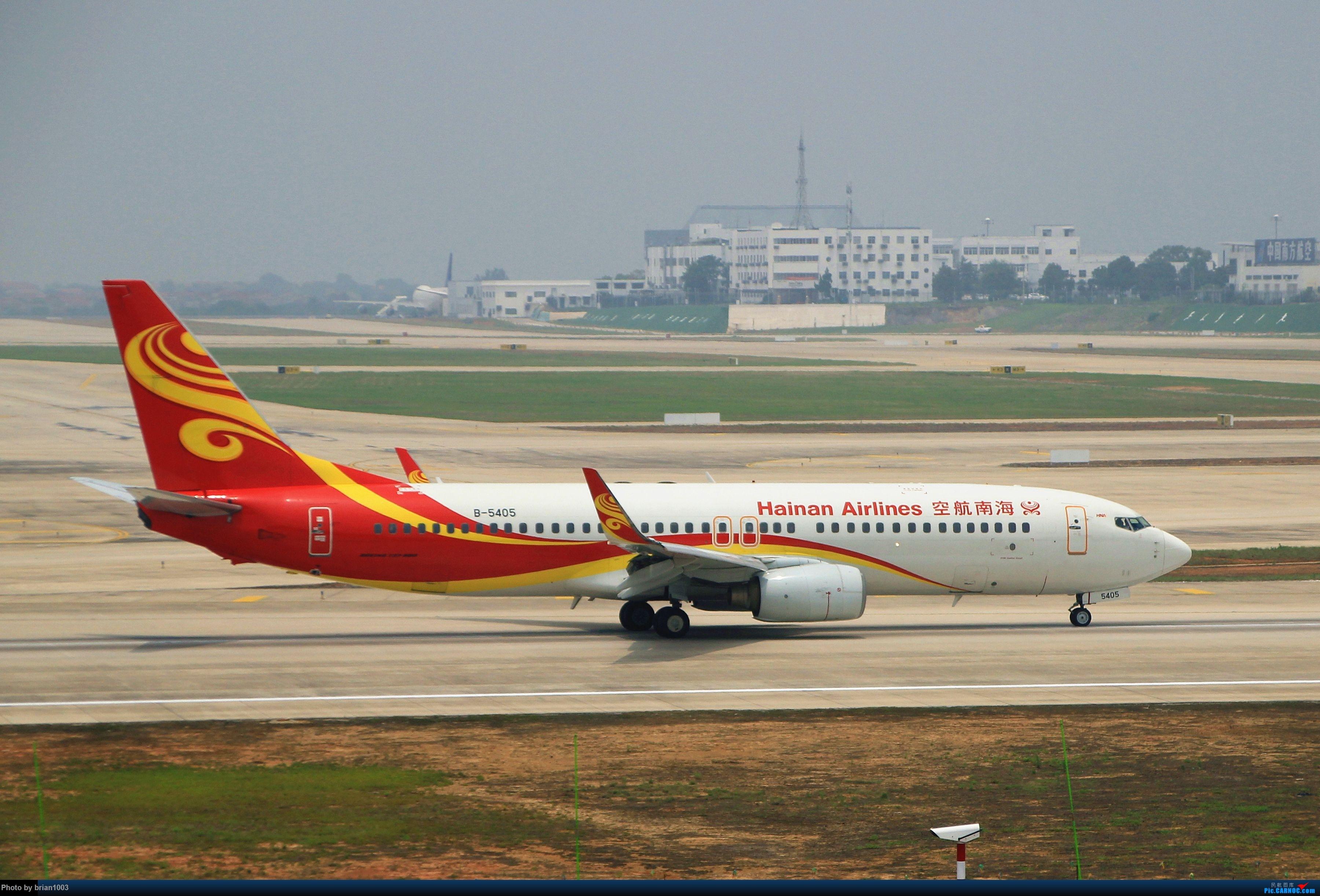 Re:[原创]WUH武汉天河机场拍机之二跑最后忙碌时 BOEING 737-800 B-5405 中国武汉天河国际机场
