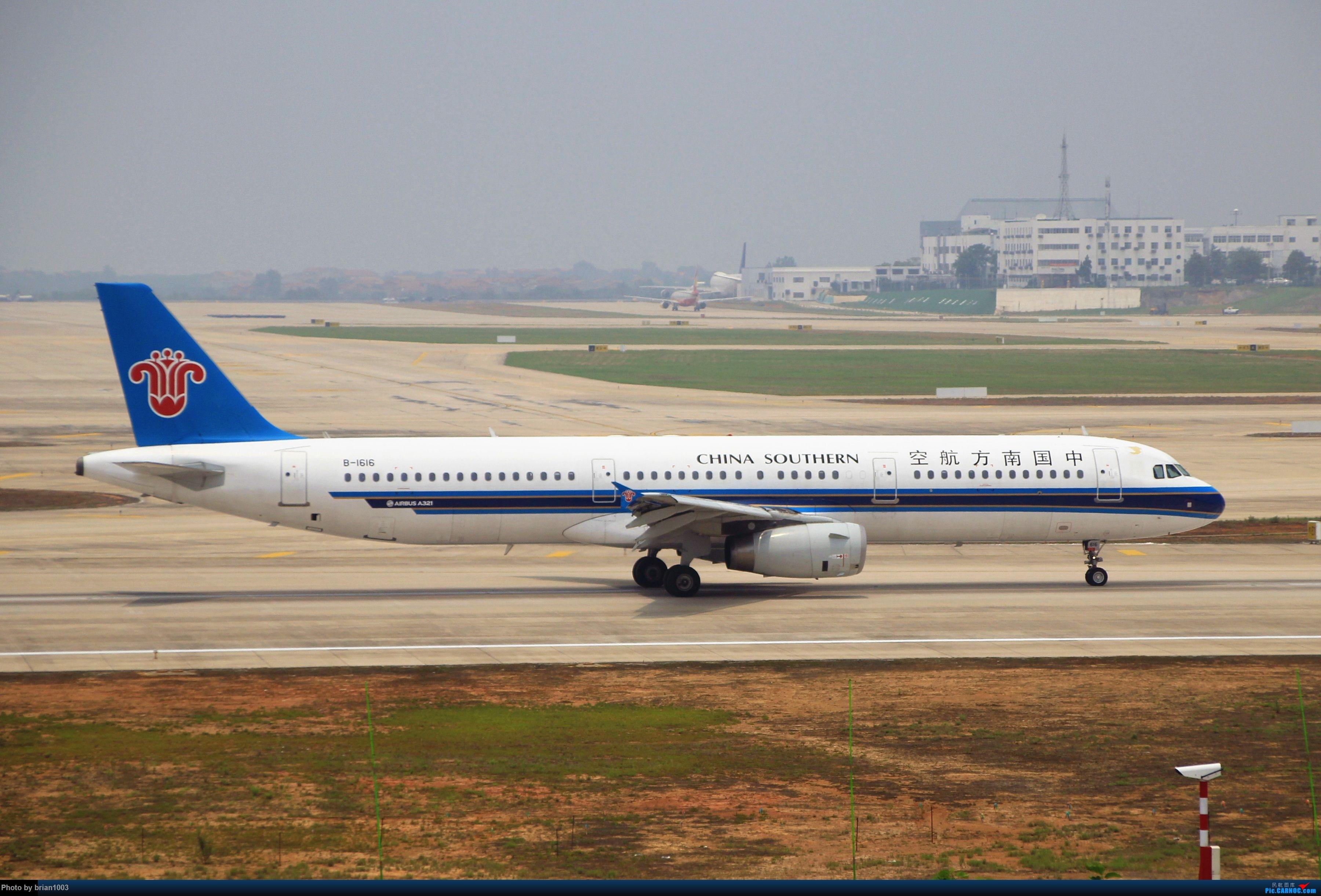 Re:[原创]WUH武汉天河机场拍机之二跑最后忙碌时 AIRBUS A321-200 B-1616 中国武汉天河国际机场