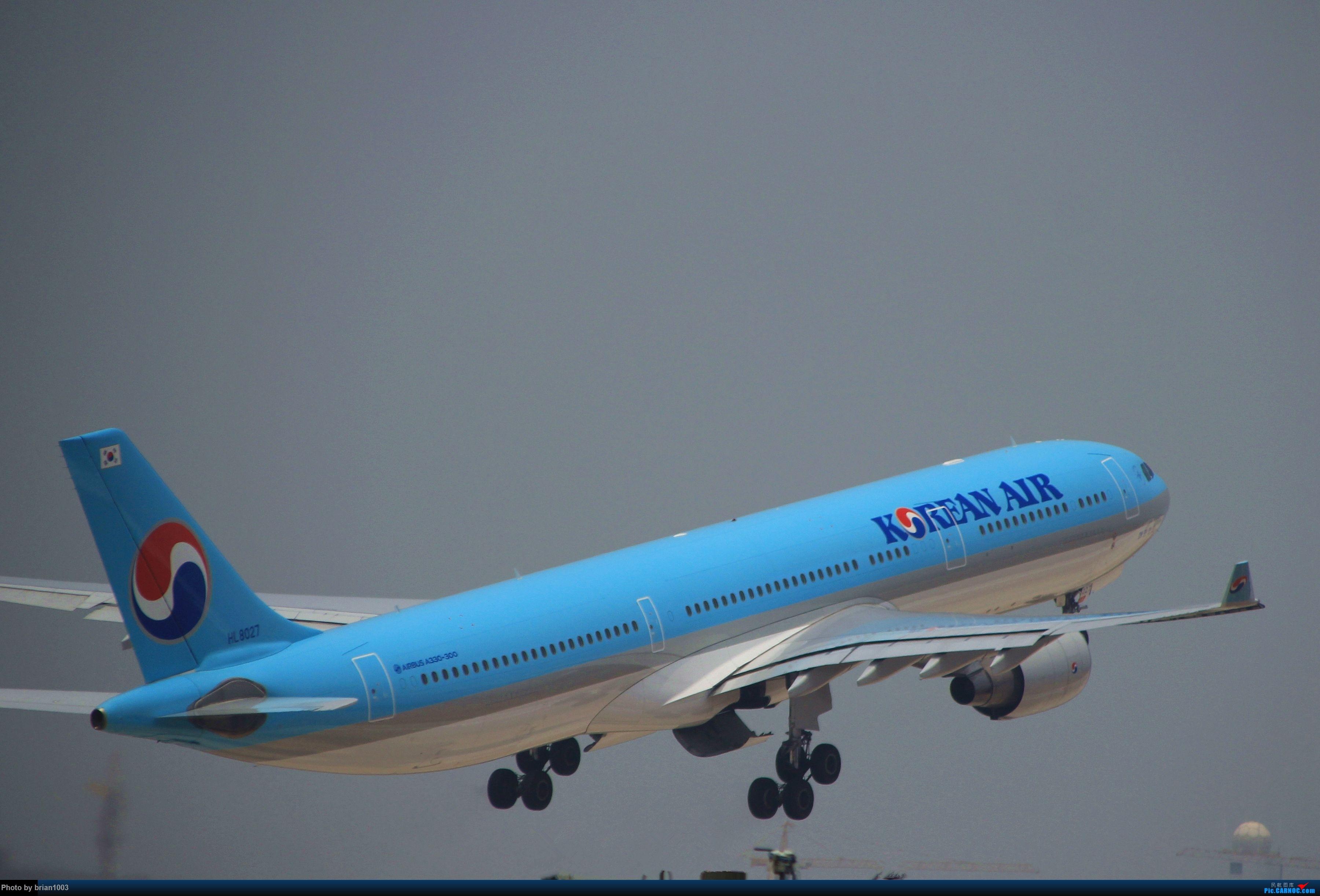 Re:[原创]WUH武汉天河机场拍机之二跑最后忙碌时 AIRBUS A330-300 HL8027 中国武汉天河国际机场