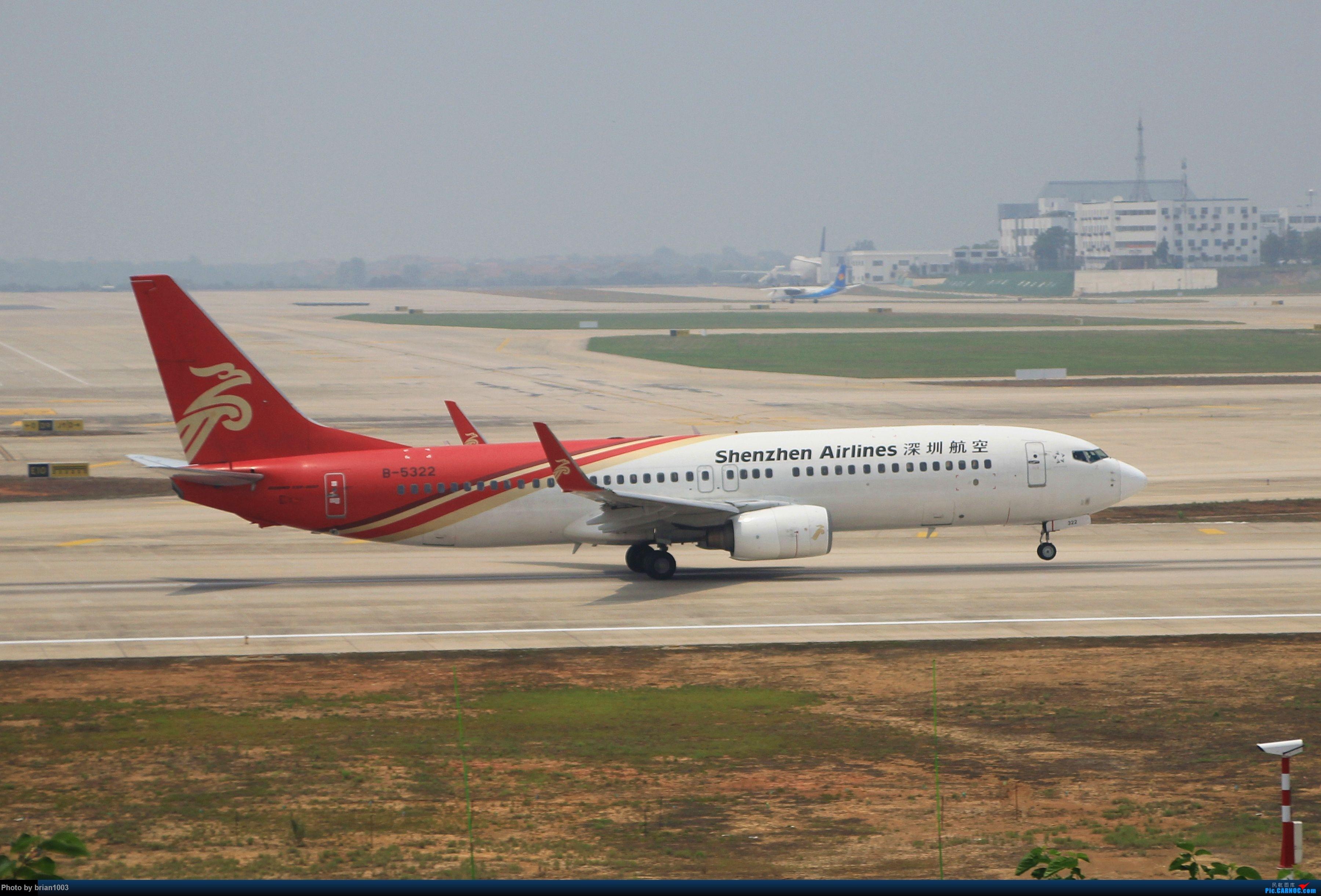 Re:[原创]WUH武汉天河机场拍机之二跑最后忙碌时 BOEING 737-800 B-5322 中国武汉天河国际机场