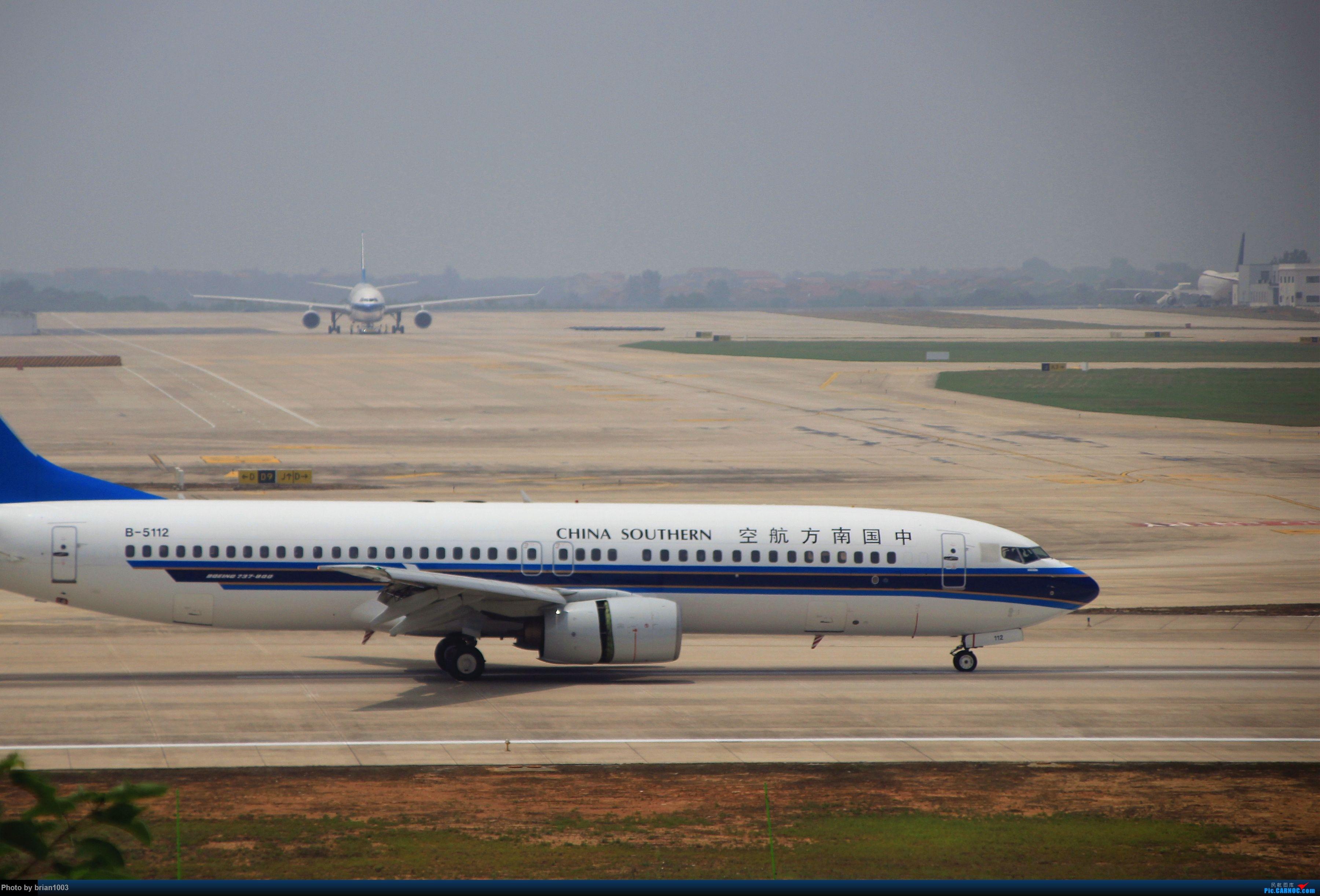 Re:[原创]WUH武汉天河机场拍机之二跑最后忙碌时 BOEING 737-800 B-5112 中国武汉天河国际机场