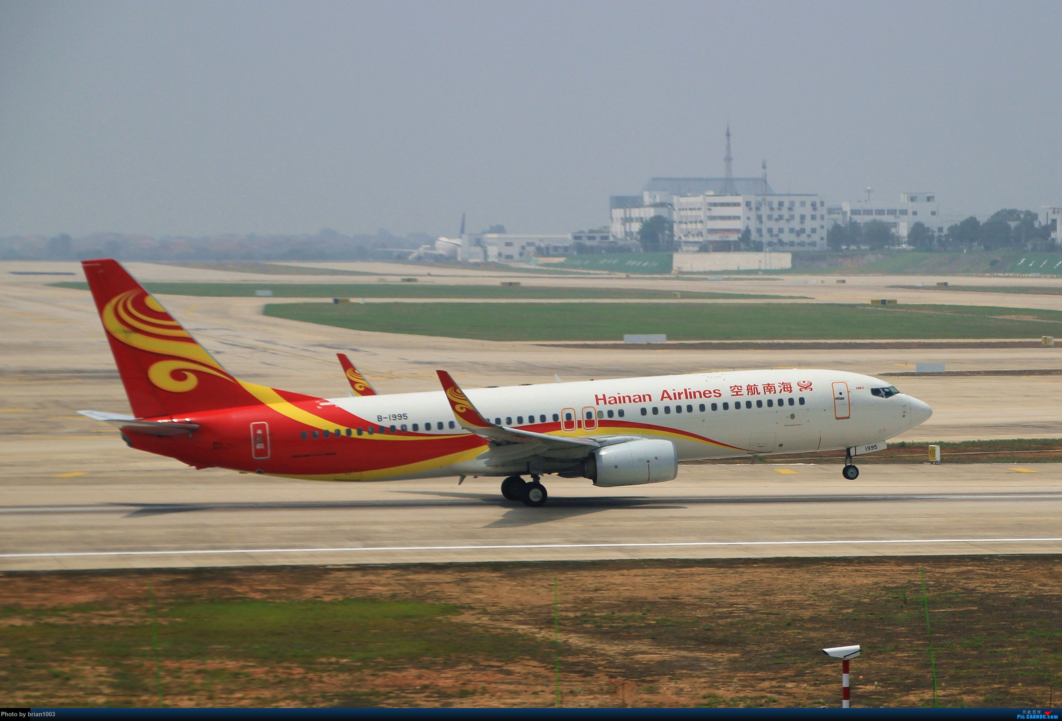 Re:[原创]WUH武汉天河机场拍机之二跑最后忙碌时 BOEING 737-800 B-1995 中国武汉天河国际机场