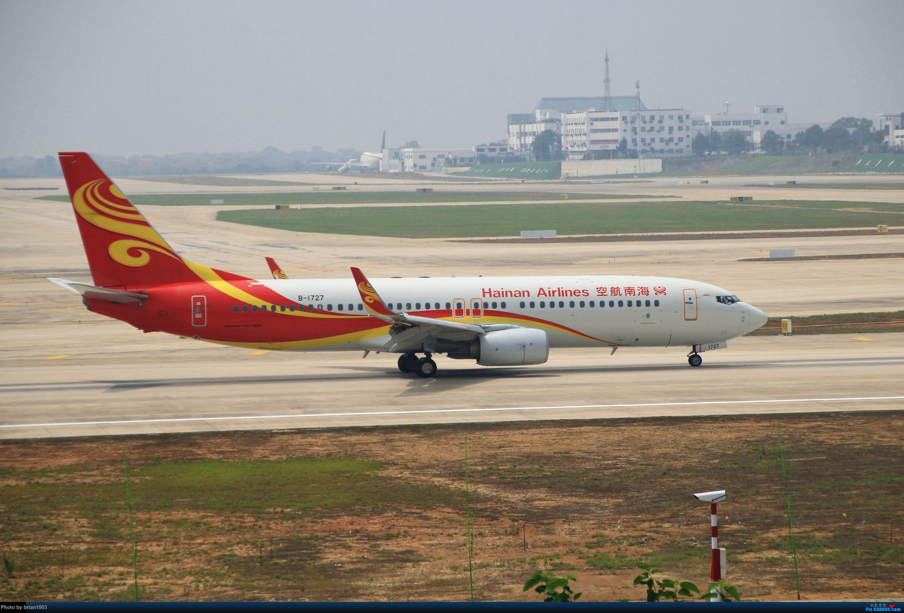 Re:[原创]WUH武汉天河机场拍机之二跑最后忙碌时 BOEING 737-800 B-1727 中国武汉天河国际机场