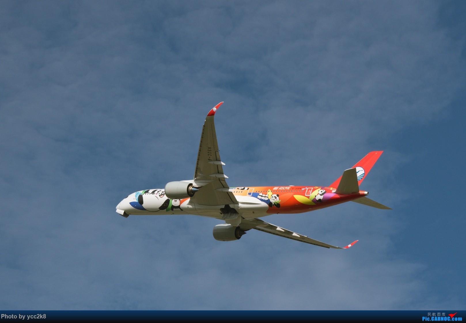 Re:[原创]CTU日常 飞行熊猫 迪士尼 川航大块头 AIRBUS A350-900 B-306N 中国成都双流国际机场