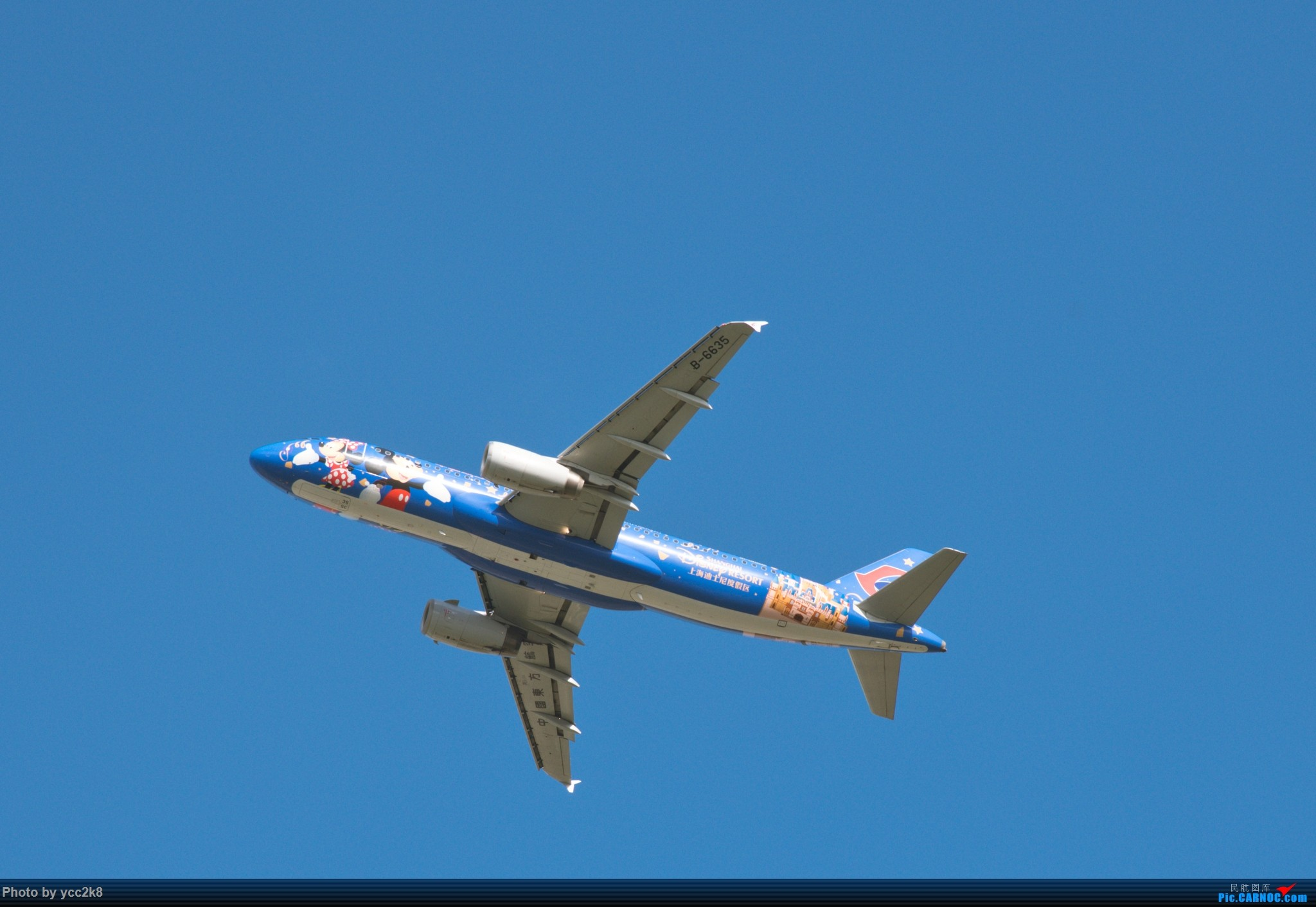 Re:[原创]CTU日常 飞行熊猫 迪士尼 川航大块头 AIRBUS A320-200 B-6635 中国成都双流国际机场