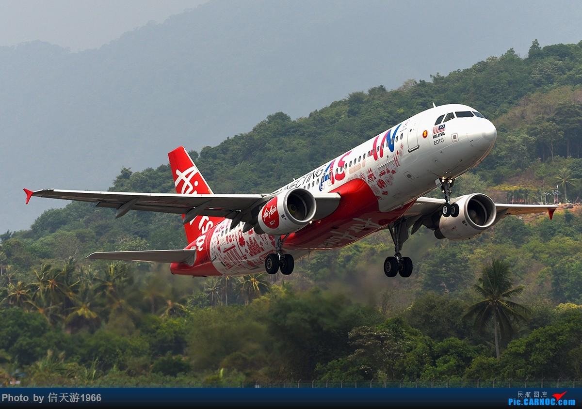 [原创]【信天游1966的影像】亚洲航空 AIRBUS A320 9M-AHX 马来西亚浮罗交怡机场