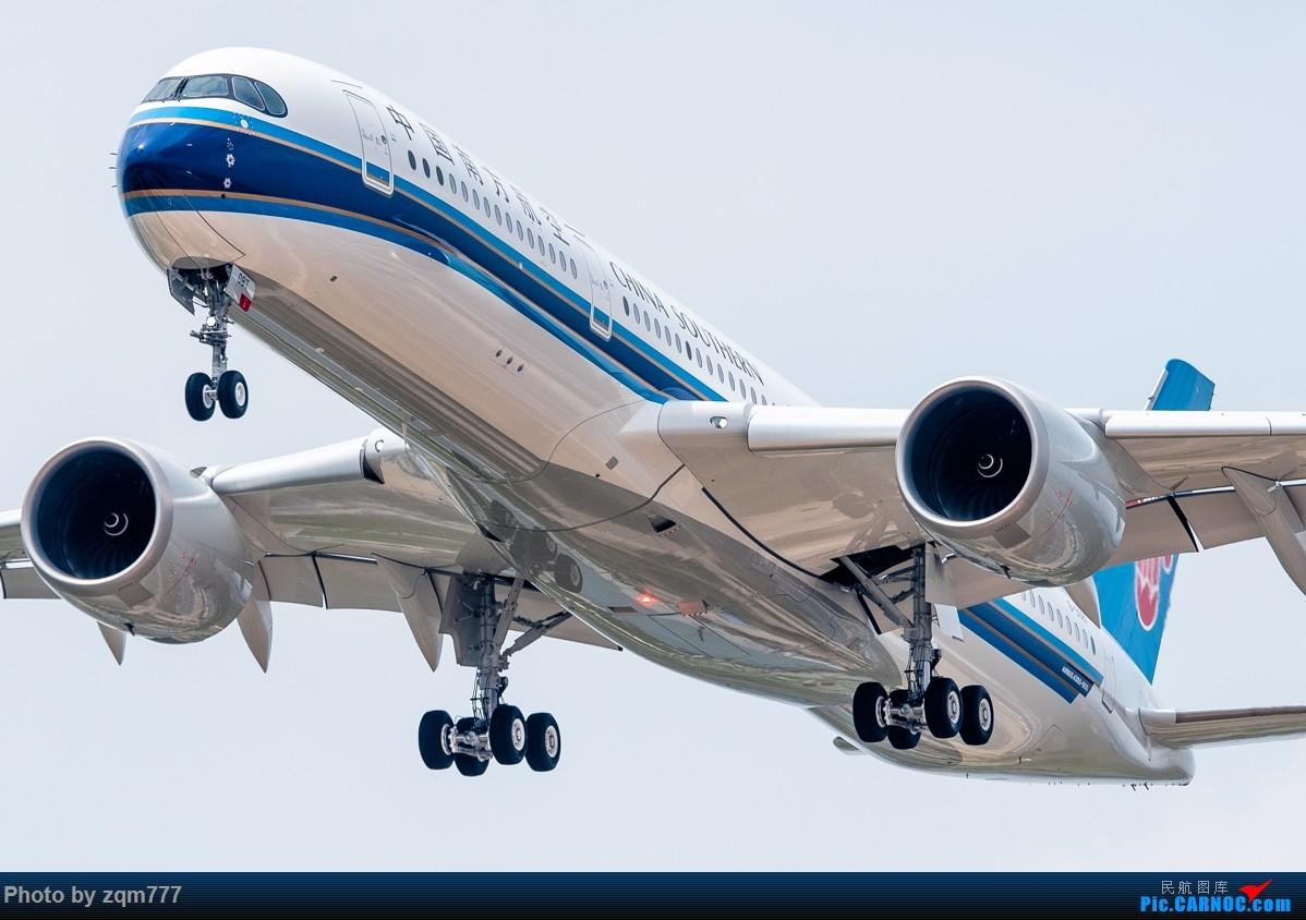 [原创]【迟到贴】鱼和熊掌得兼的一天,欢迎南航首架A350抵穗 AIRBUS A350-900 B-308T 中国广州白云国际机场