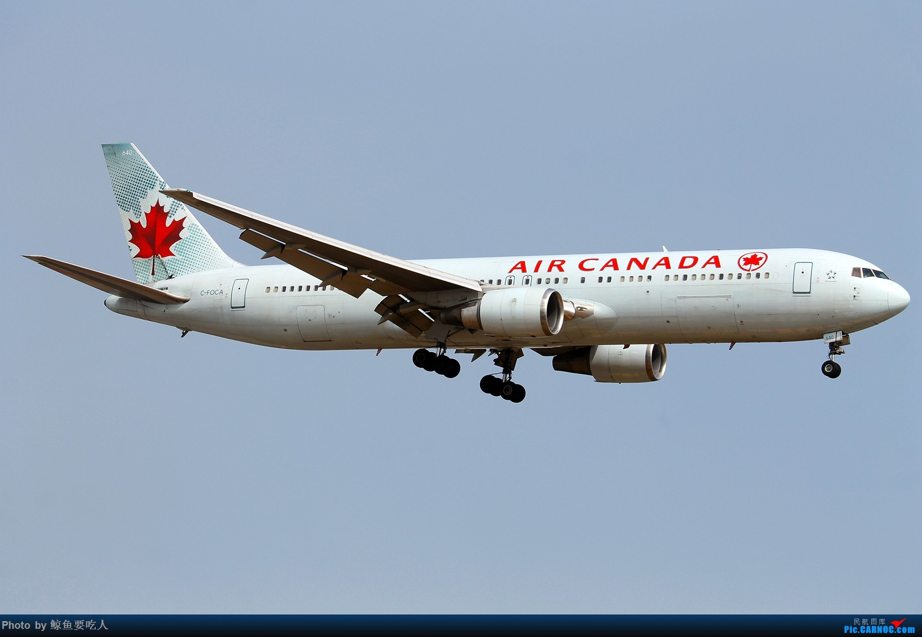 Re:[原创][Steven@YYZ] 多伦多皮尔逊国际机场晴天降落一组~~~ BOEING 767-300ER C-FOCA 多伦多皮尔逊国际机场
