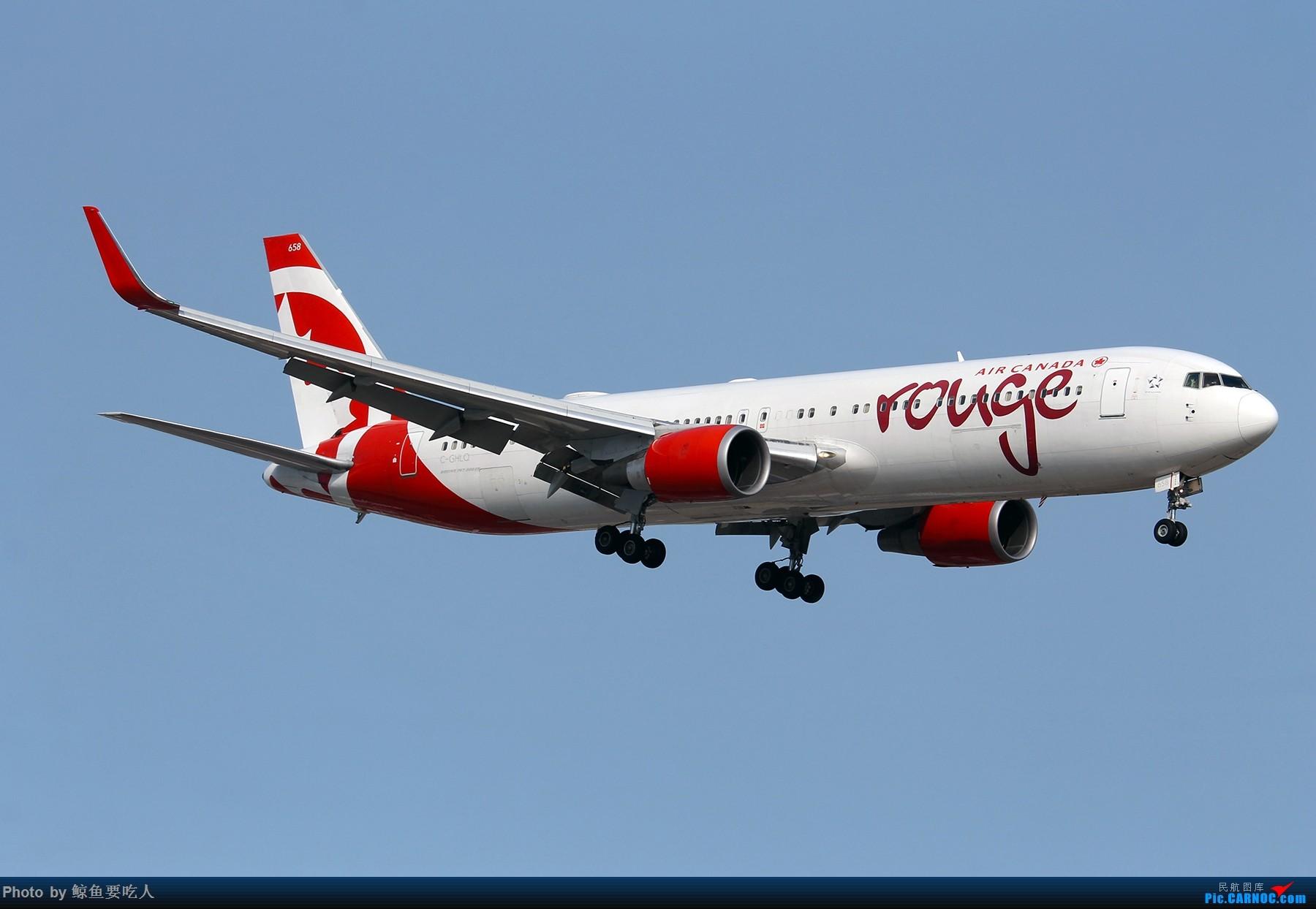 Re:[Steven@YYZ] 多伦多皮尔逊国际机场晴天降落一组~~~ BOEING 767-300ER C-GHLQ 多伦多皮尔逊国际机场