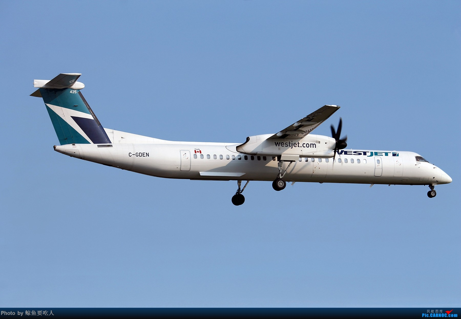 Re:[原创][Steven@YYZ] 多伦多皮尔逊国际机场晴天降落一组~~~ DE HAVILLAN CANADA DHC-8-400 C-GDEN 多伦多皮尔逊国际机场