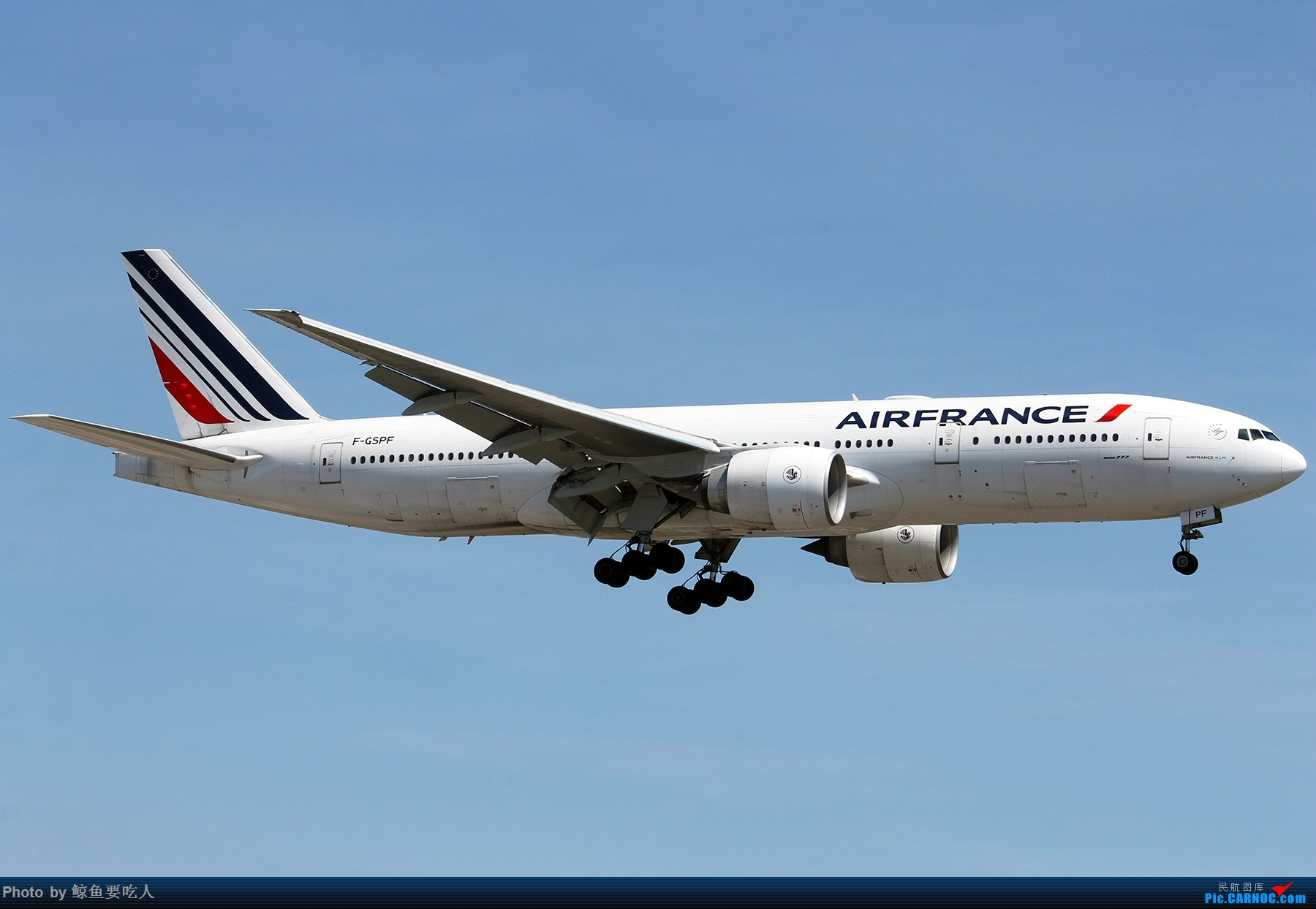 Re:[原创][Steven@YYZ] 多伦多皮尔逊国际机场晴天降落一组~~~ BOEING 777-200 F-GSPF 多伦多皮尔逊国际机场