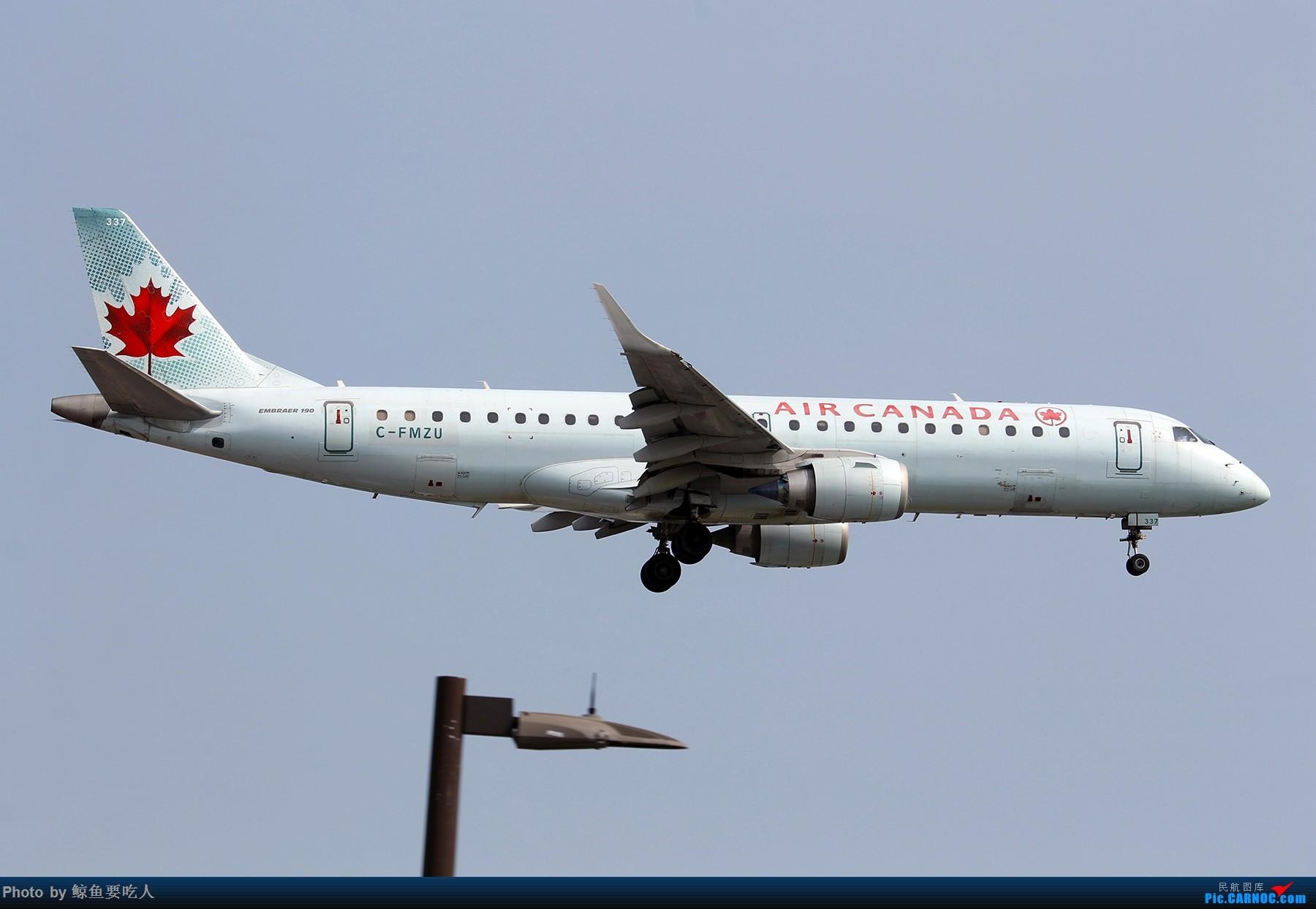Re:[原创][Steven@YYZ] 多伦多皮尔逊国际机场晴天降落一组~~~ ERJ-190AR C-FMZU 多伦多皮尔逊国际机场