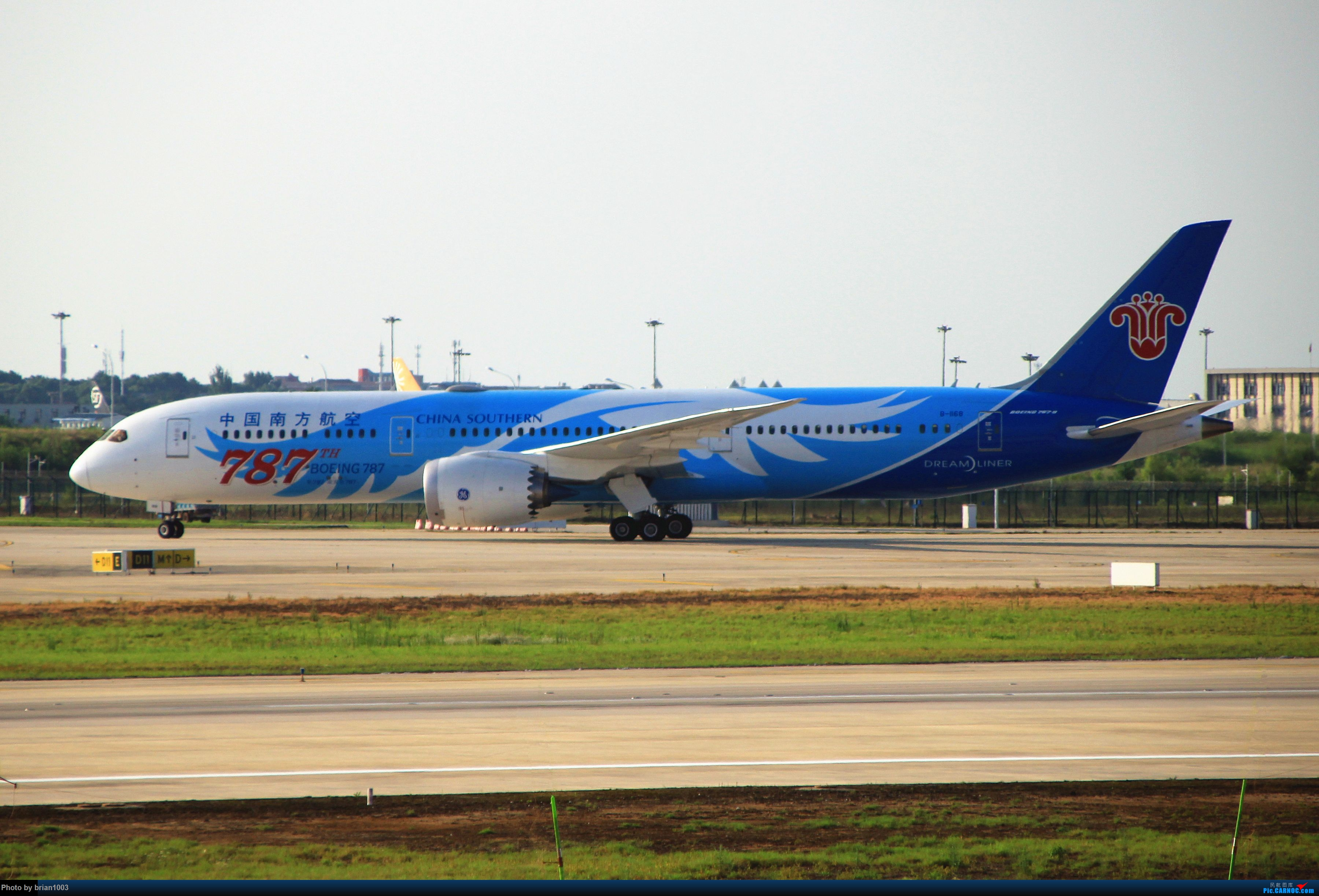 Re:[原创]WUH武汉天河机场拍机之喜迎纽约直飞 BOEING 787-9 B-1168 中国武汉天河国际机场