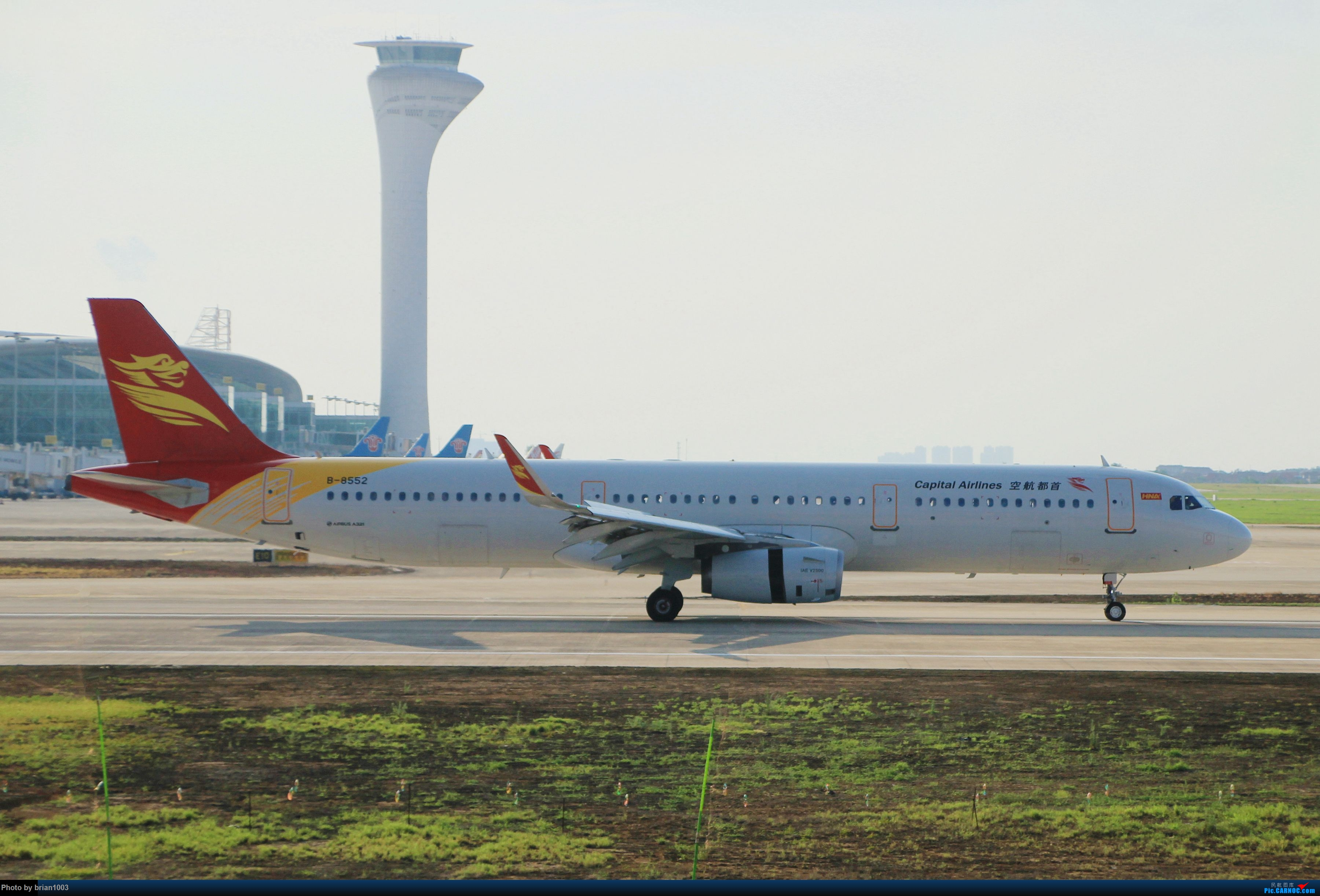 Re:[原创]WUH武汉天河机场拍机之喜迎纽约直飞 AIRBUS A321-200 B-8552 中国武汉天河国际机场