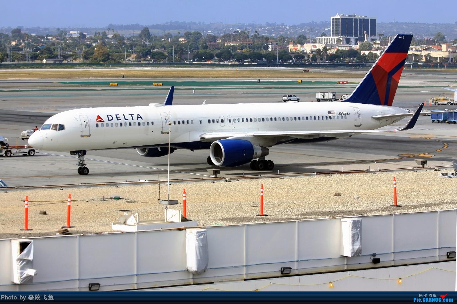 Re:[原创]洛杉矶机场拍飞机 BOEING 757-200 N543US 美国洛杉矶机场